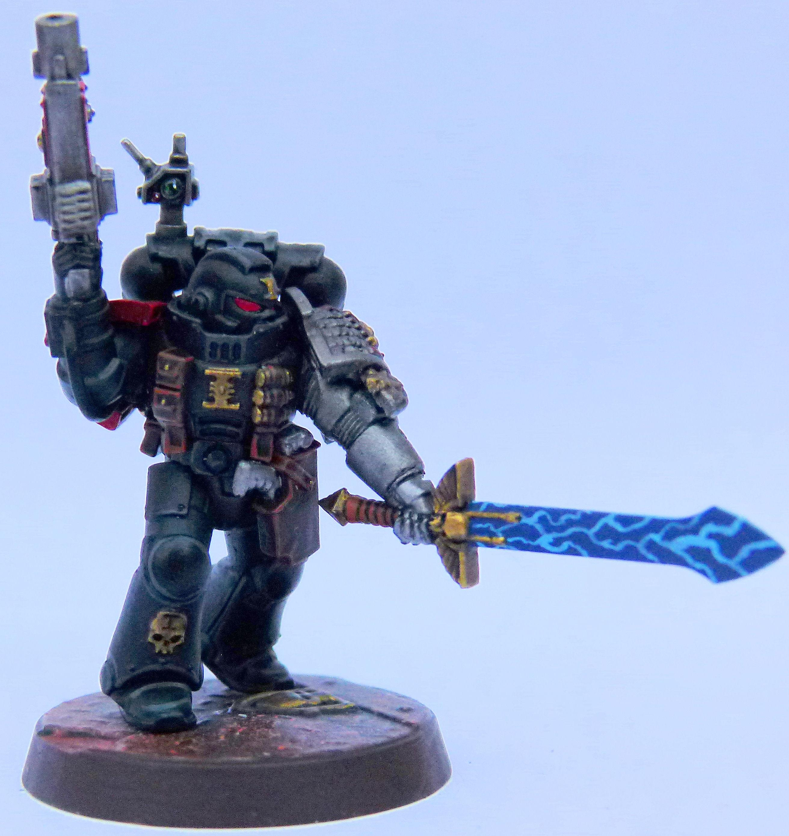 Crimson Fist Deathwatch Front