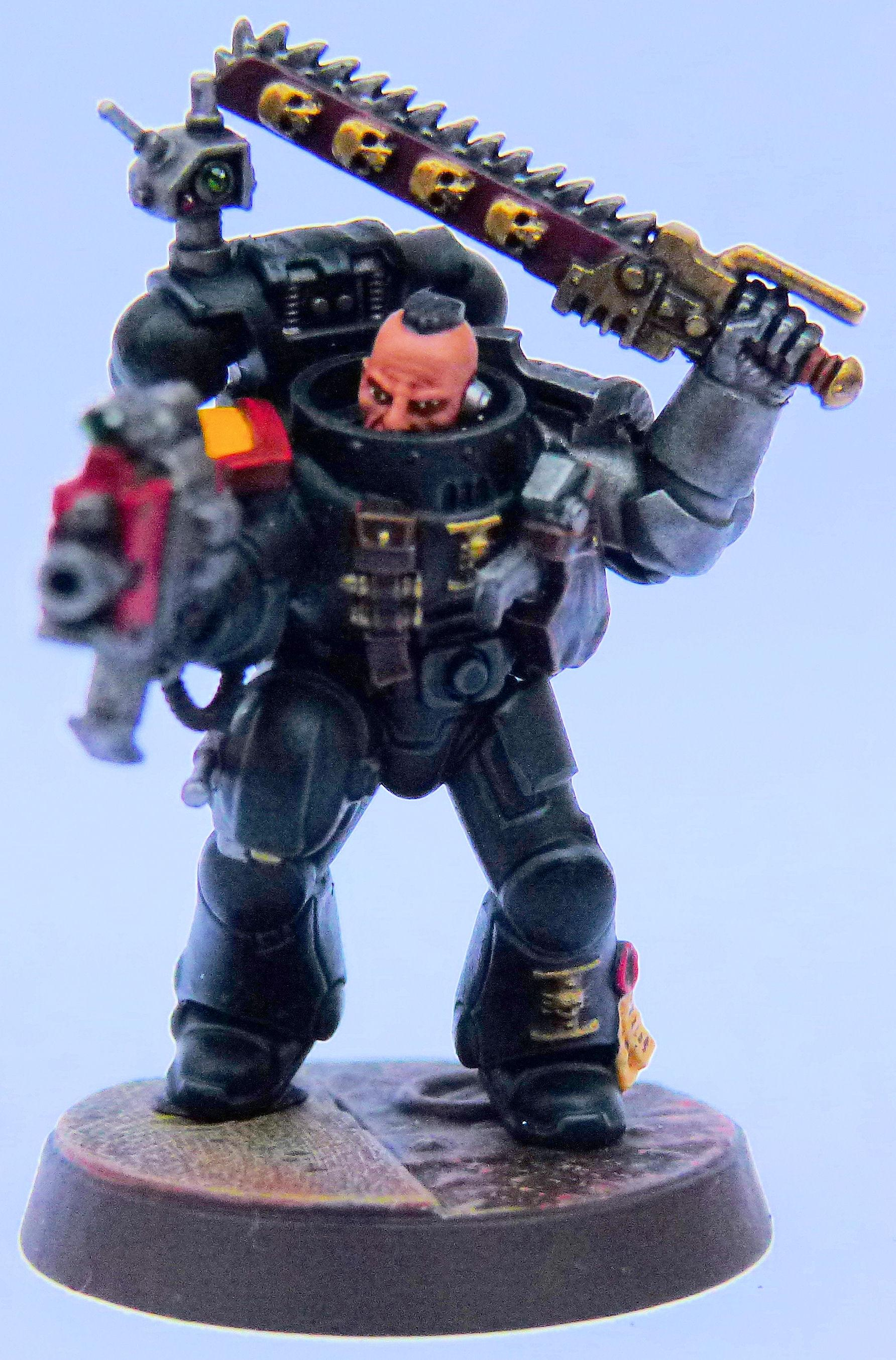 Imperial Fist Deathwatch Front