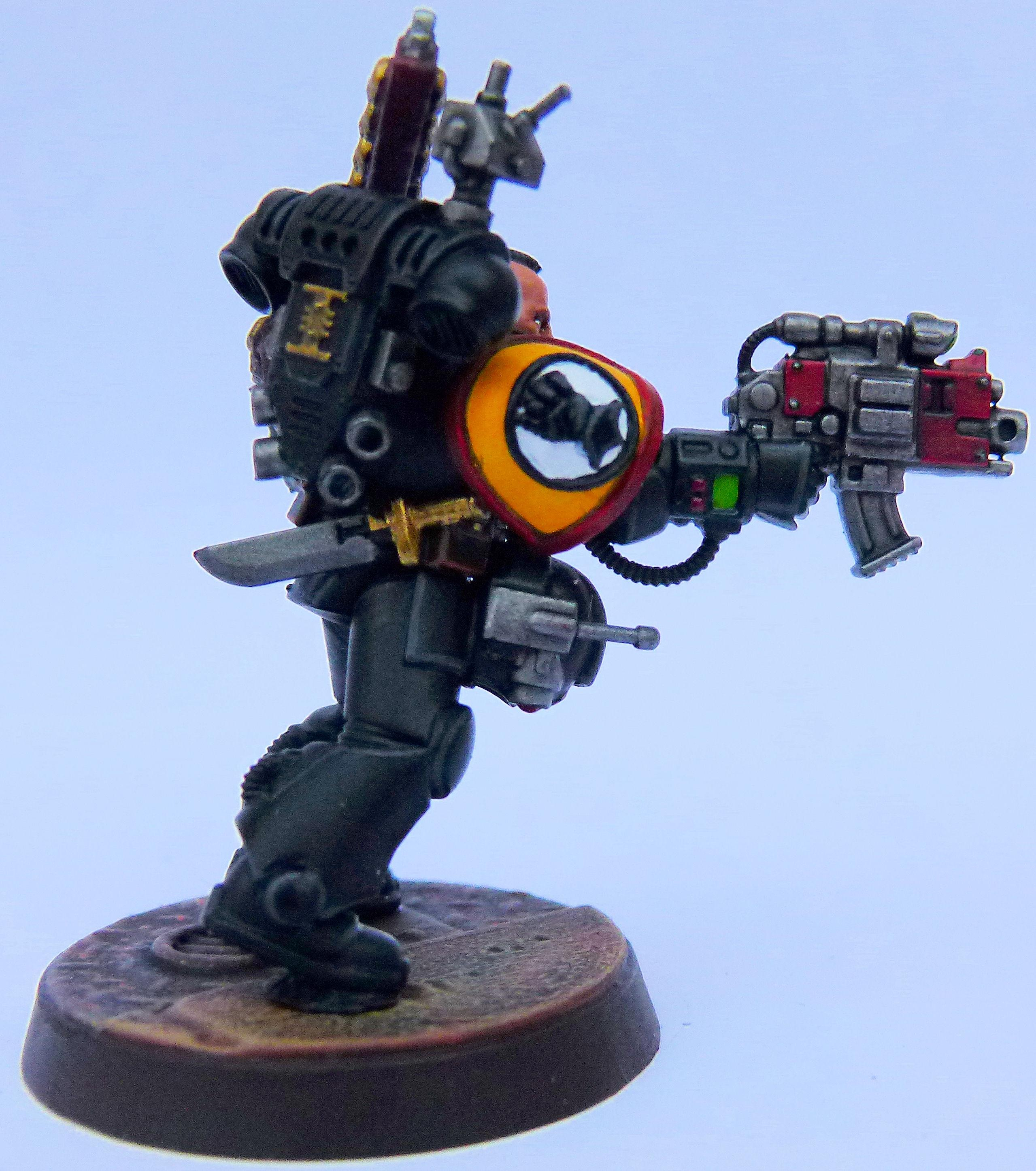 Imperial Fist Deathwatch Side