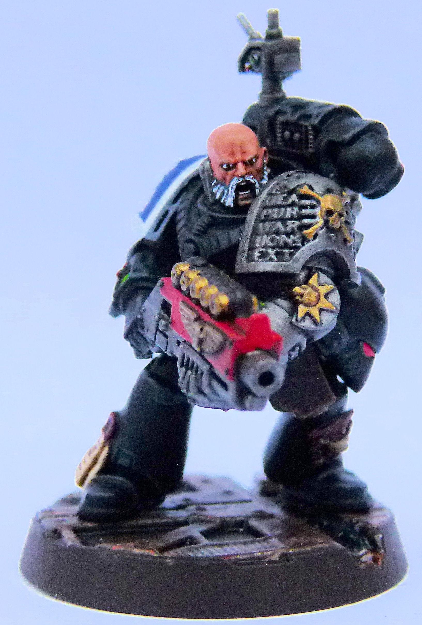 Ultramarine Deathwatch Front