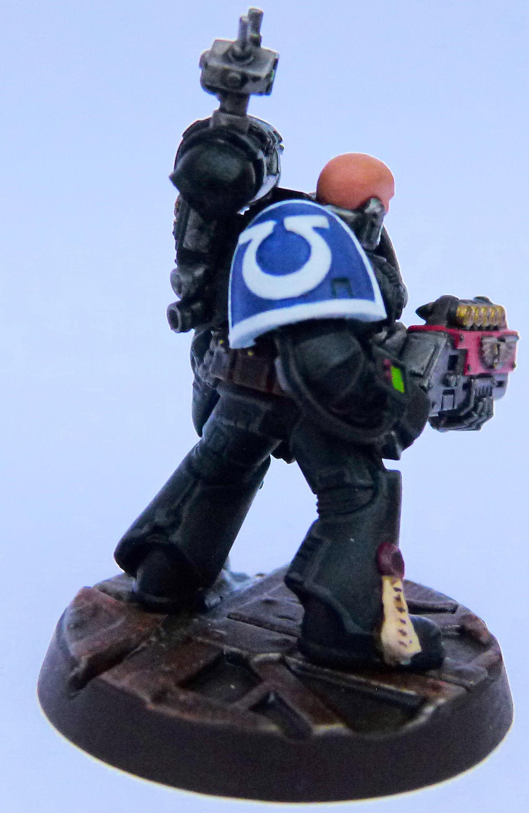 Ultramarine Deathwatch Right Side
