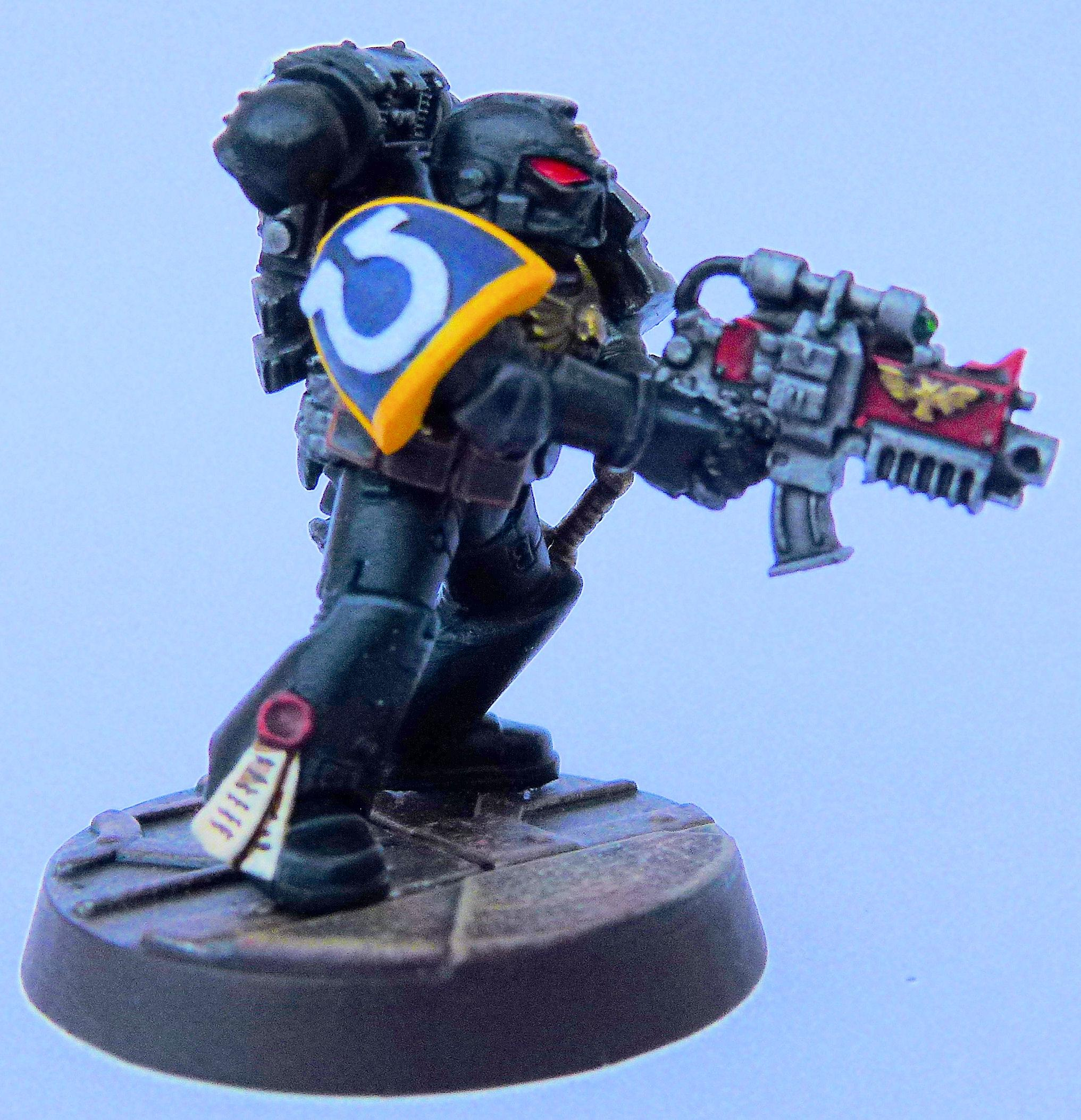Ultramarine Deathwatch 3 Right Side
