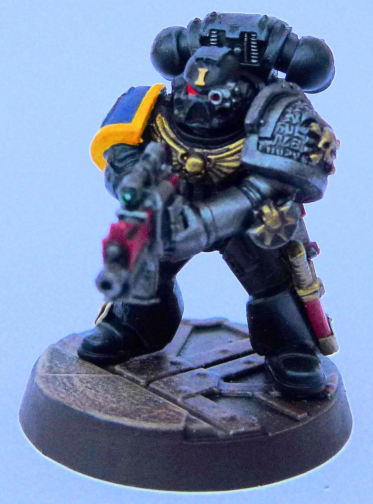 Ultramarine Deathwatch 3 Front