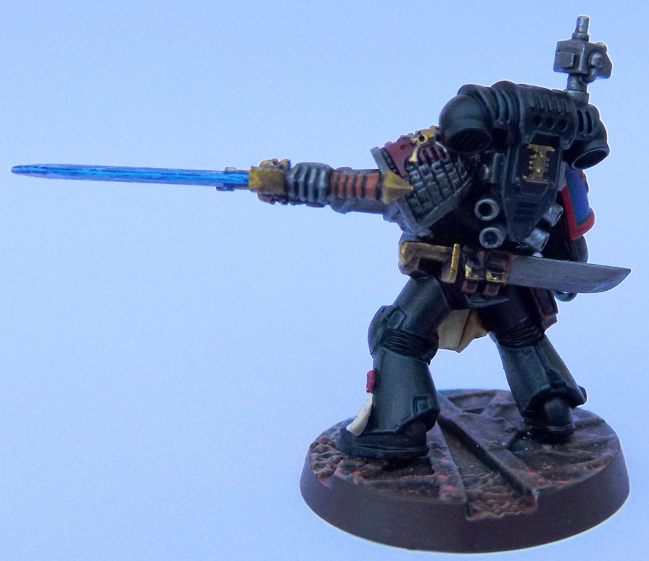 Brazen Claws Deathwatch Rear