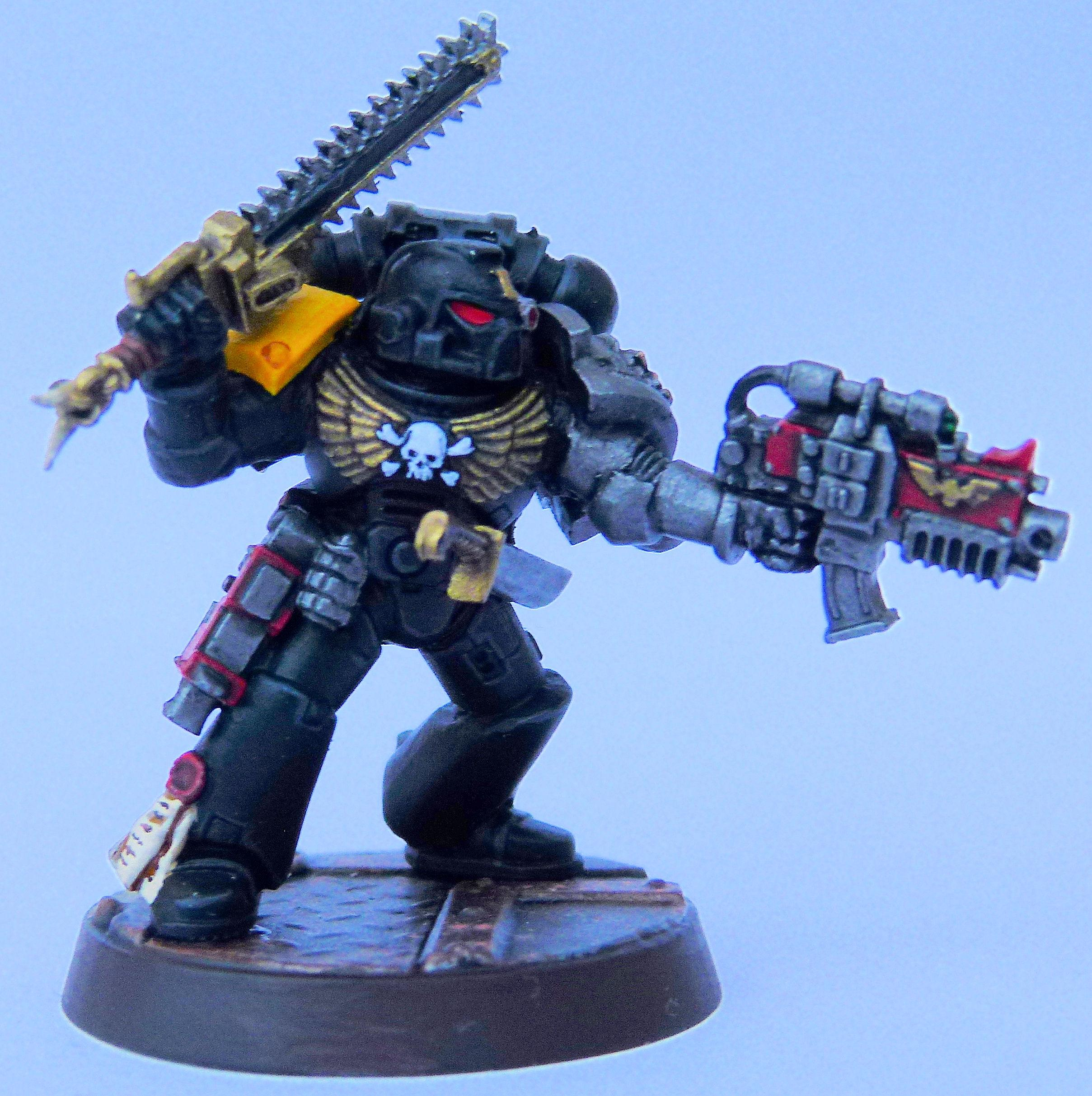 Imperial Fist 2 Deathwatch Front