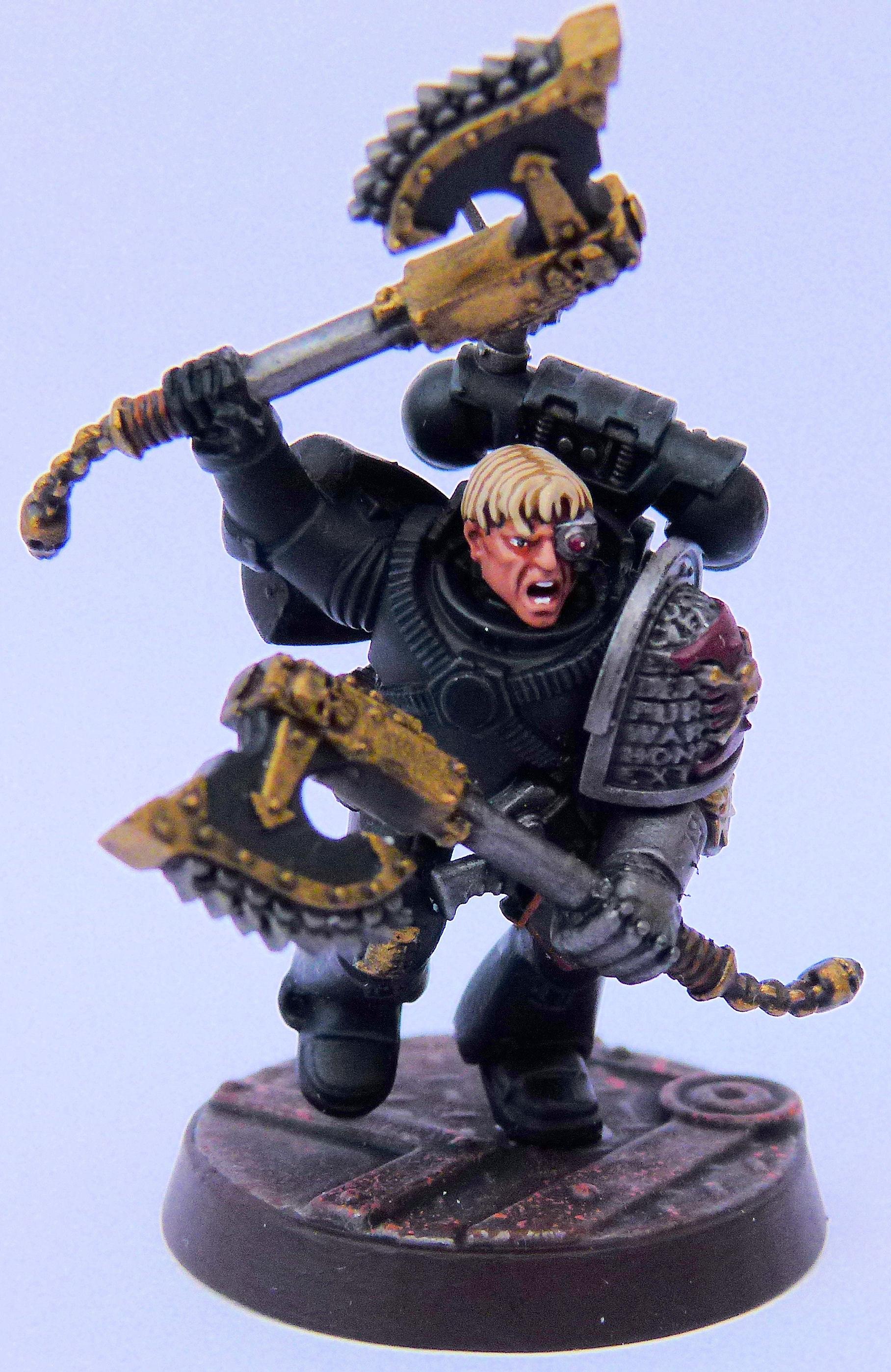 Flesh Tearer Deathwatch Front