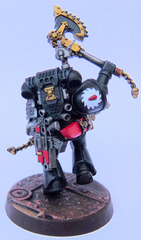 Flesh Tearer Deathwatch Rear