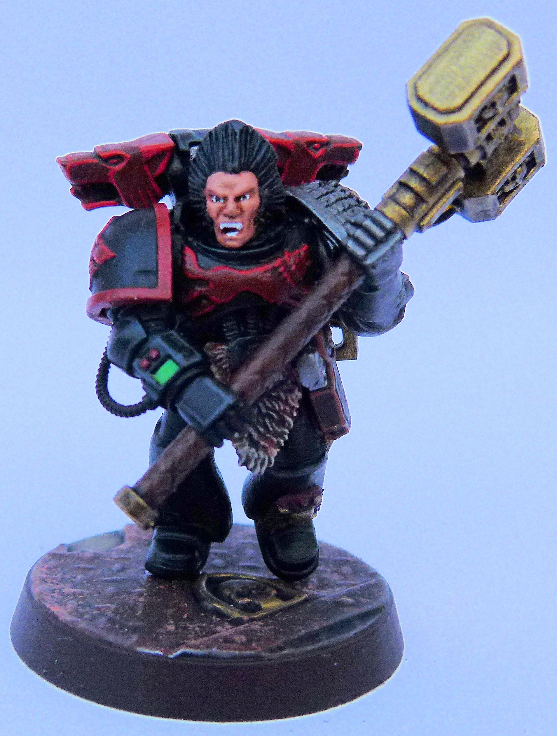Red Wolves Deathwatch Front