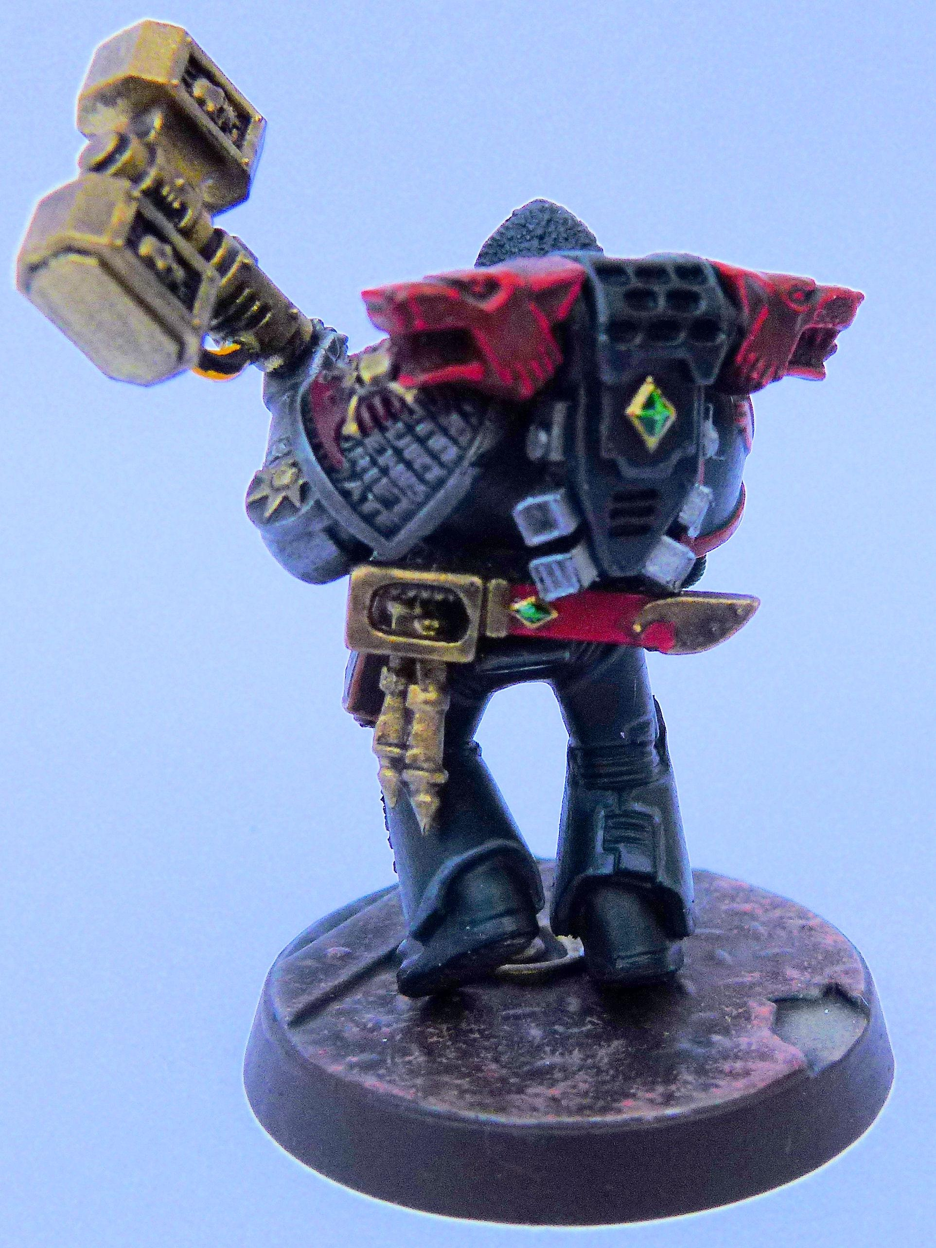 Red Wolves Deathwatch Rear