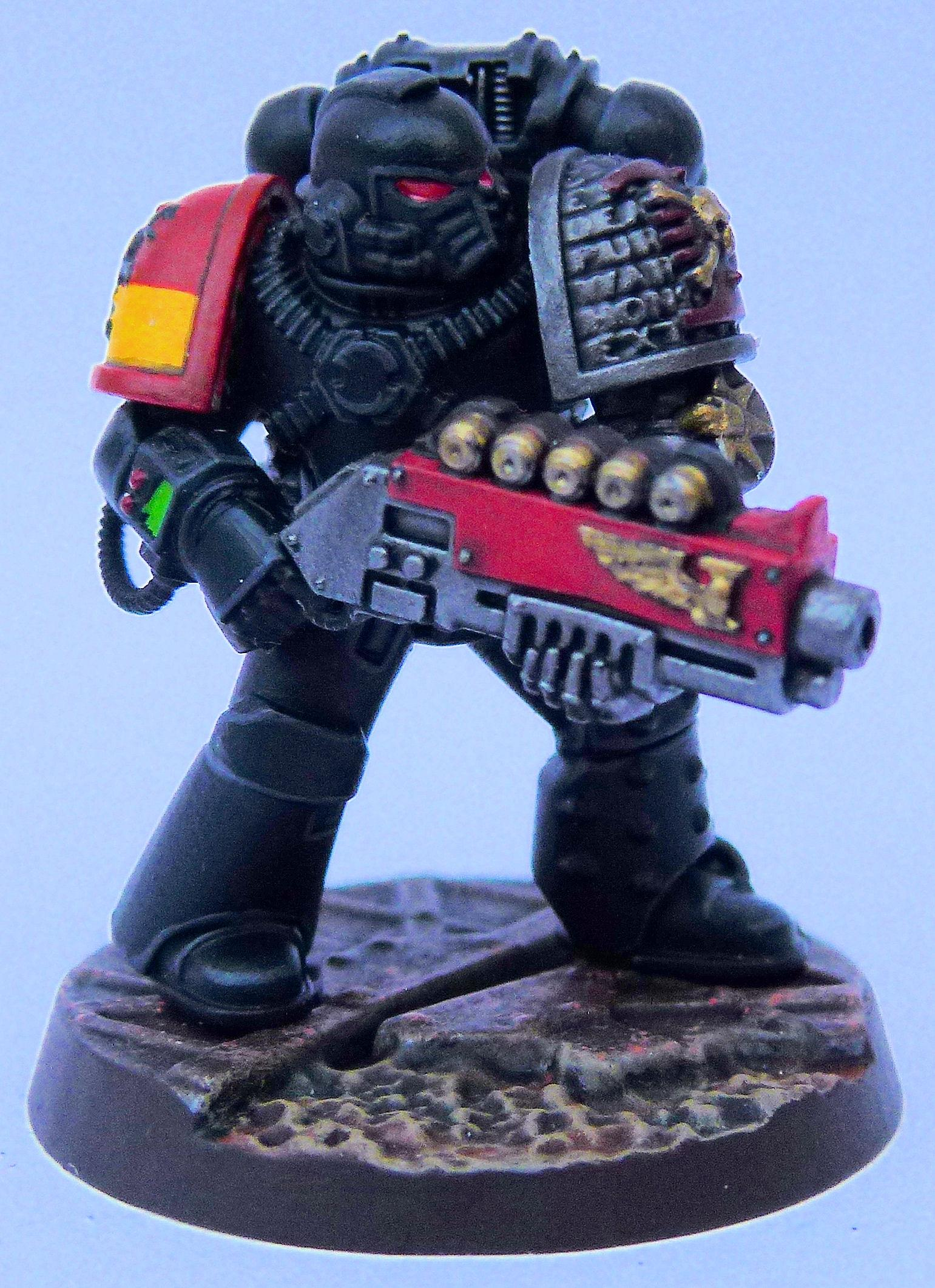 Howling Gryphons Deathwatch Front