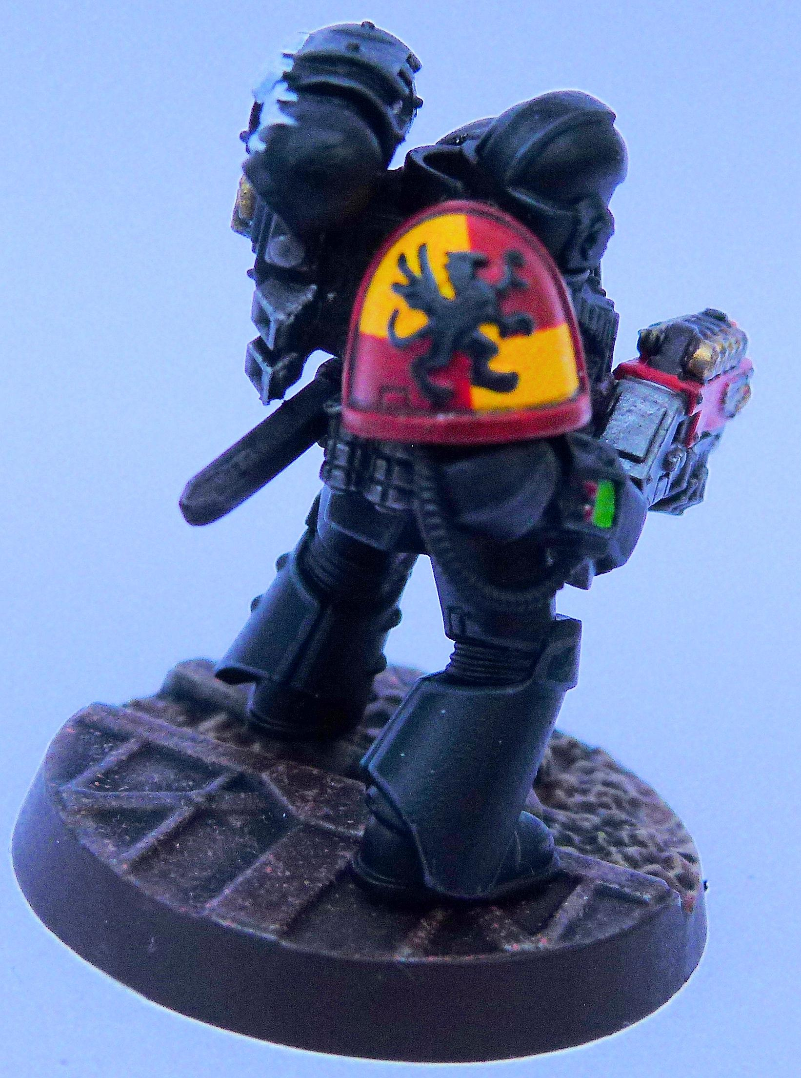 Howling Gryphons Deathwatch Right Side