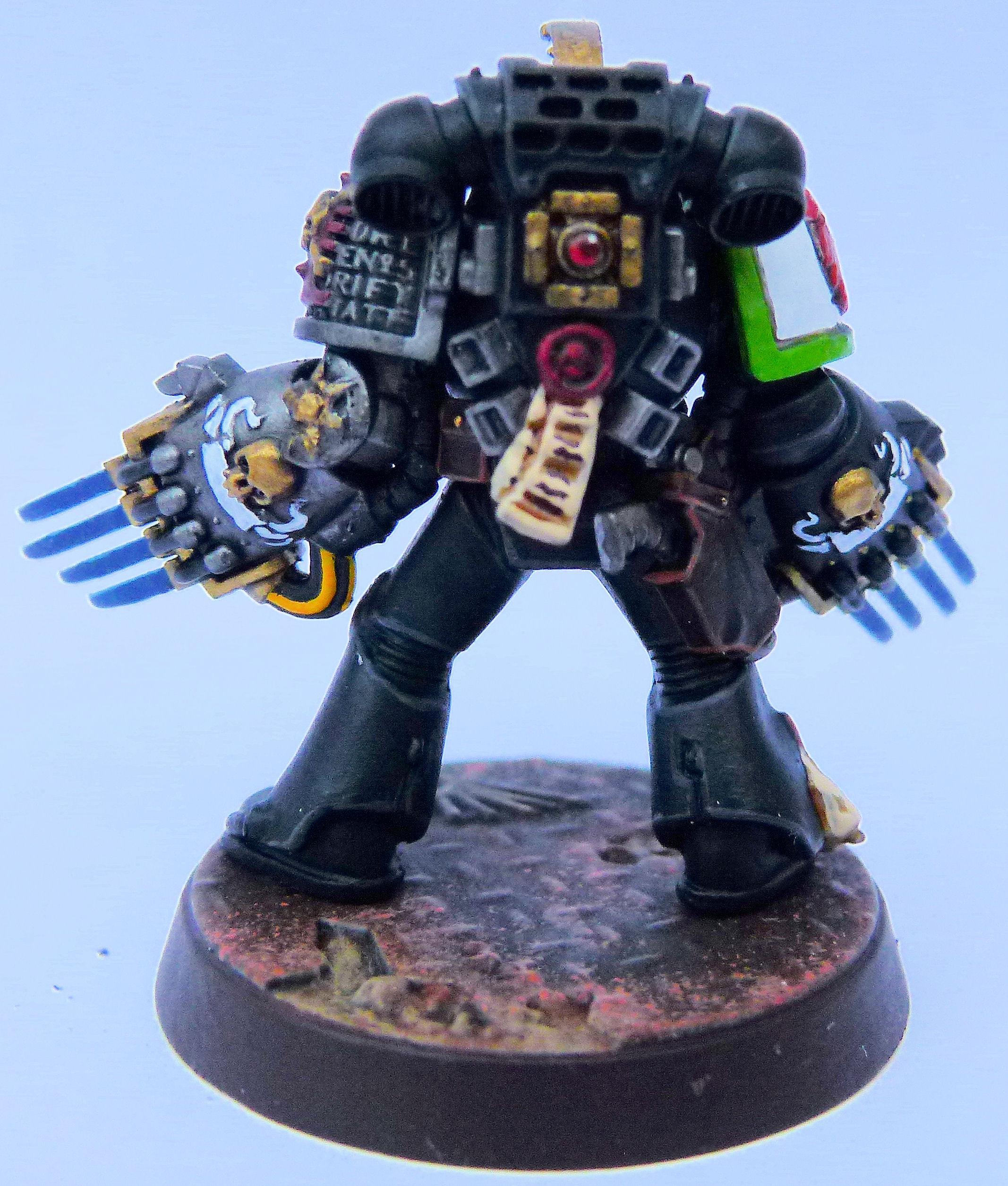 Mentor Legion Deathwatch Rear