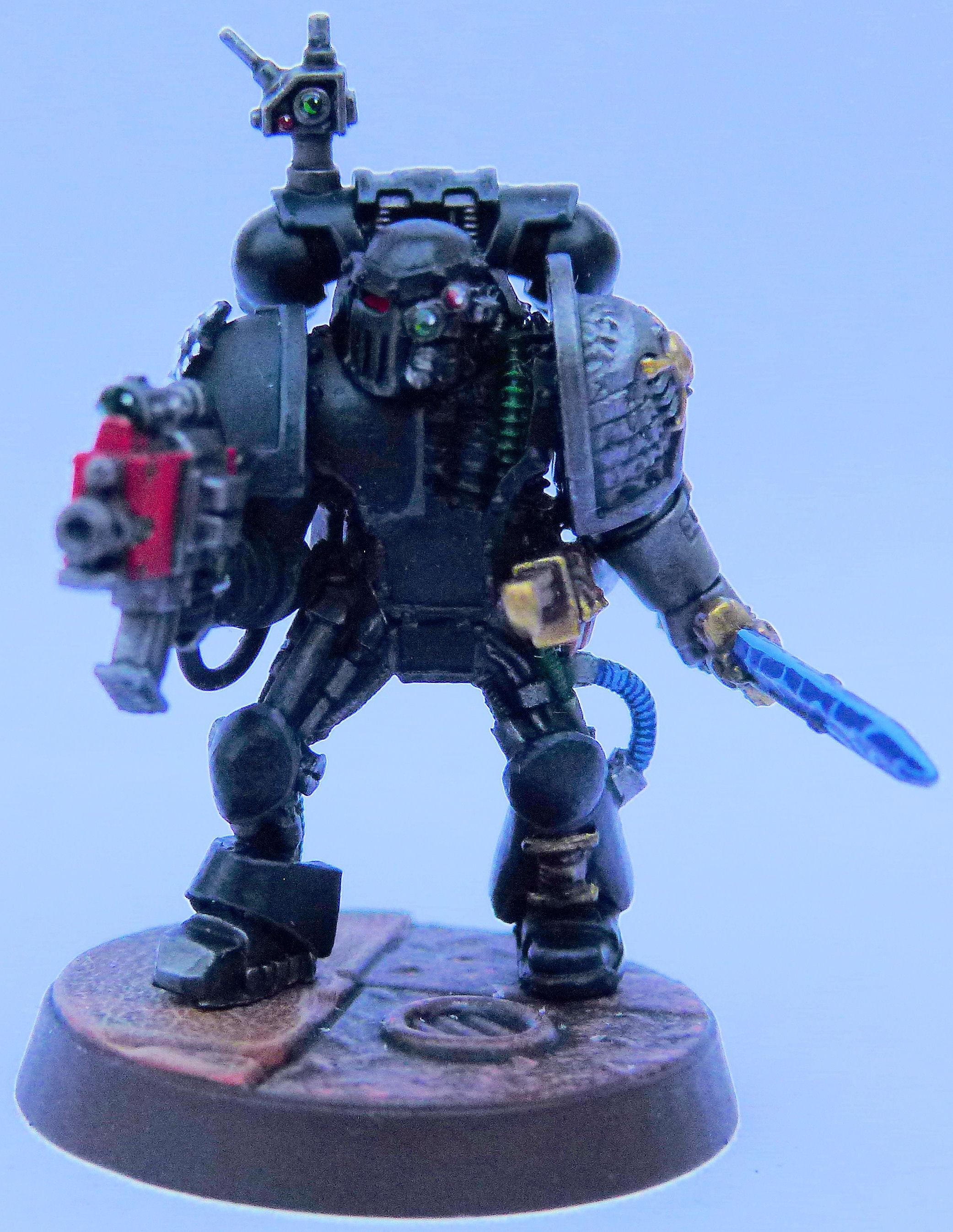 Iron Hands Deathwatch Front