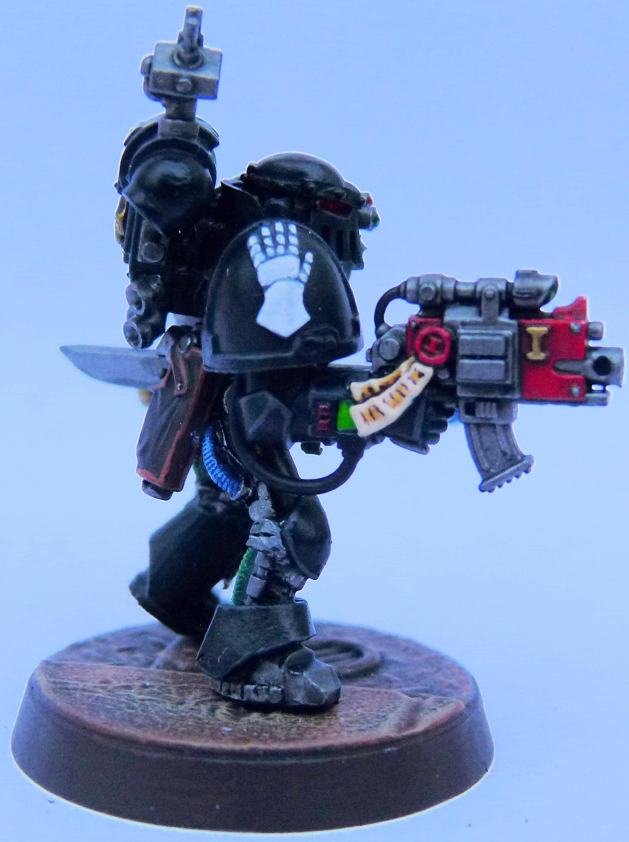 Iron Hands Deathwatch Right Side