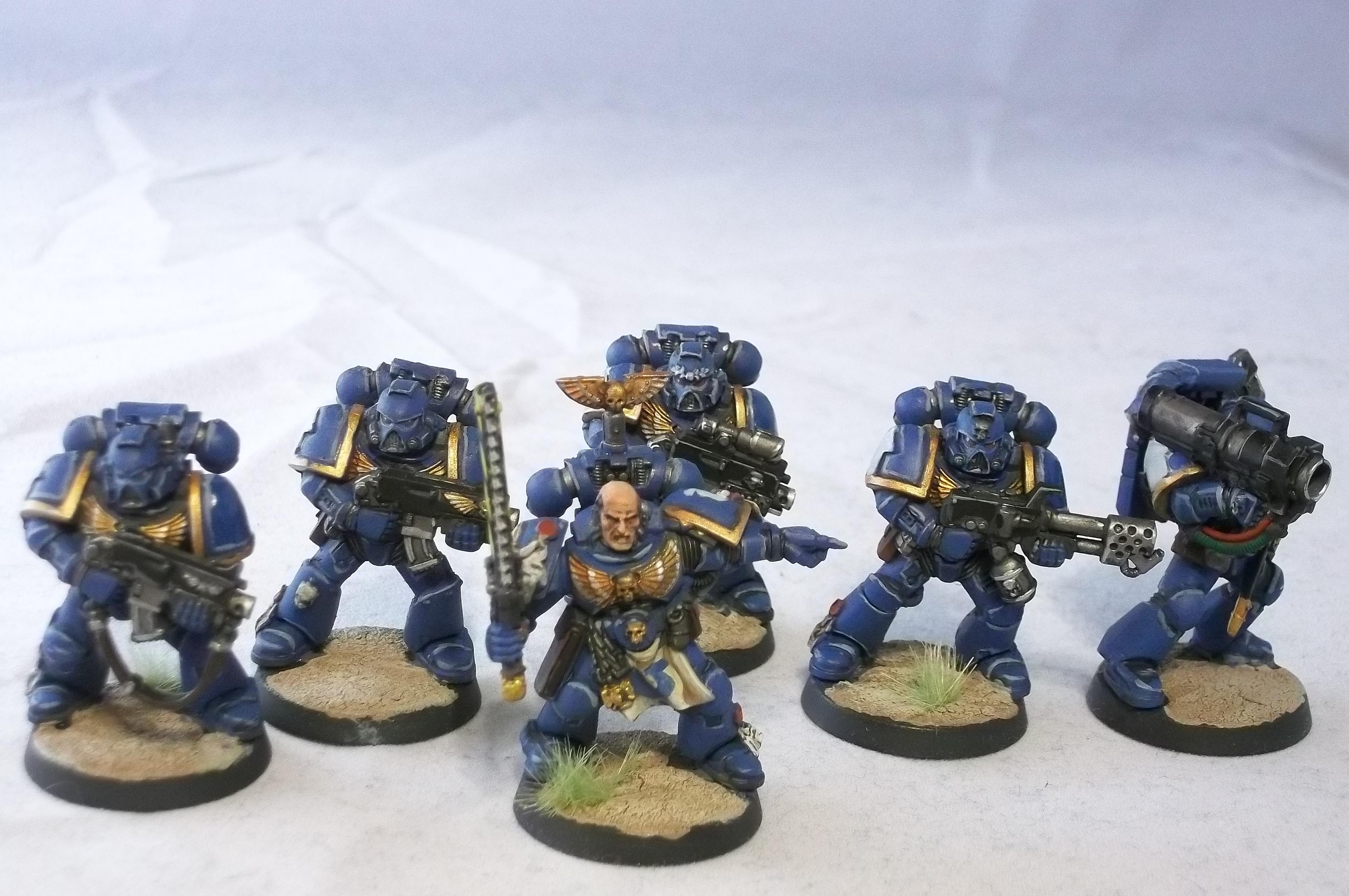 Battle For Vedros, Space Marines, Tactical Squad