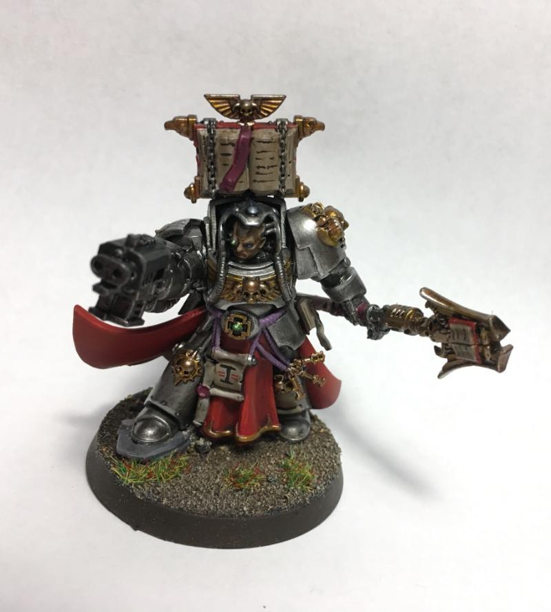 Grey Knights, Librarian, Terminator Armor