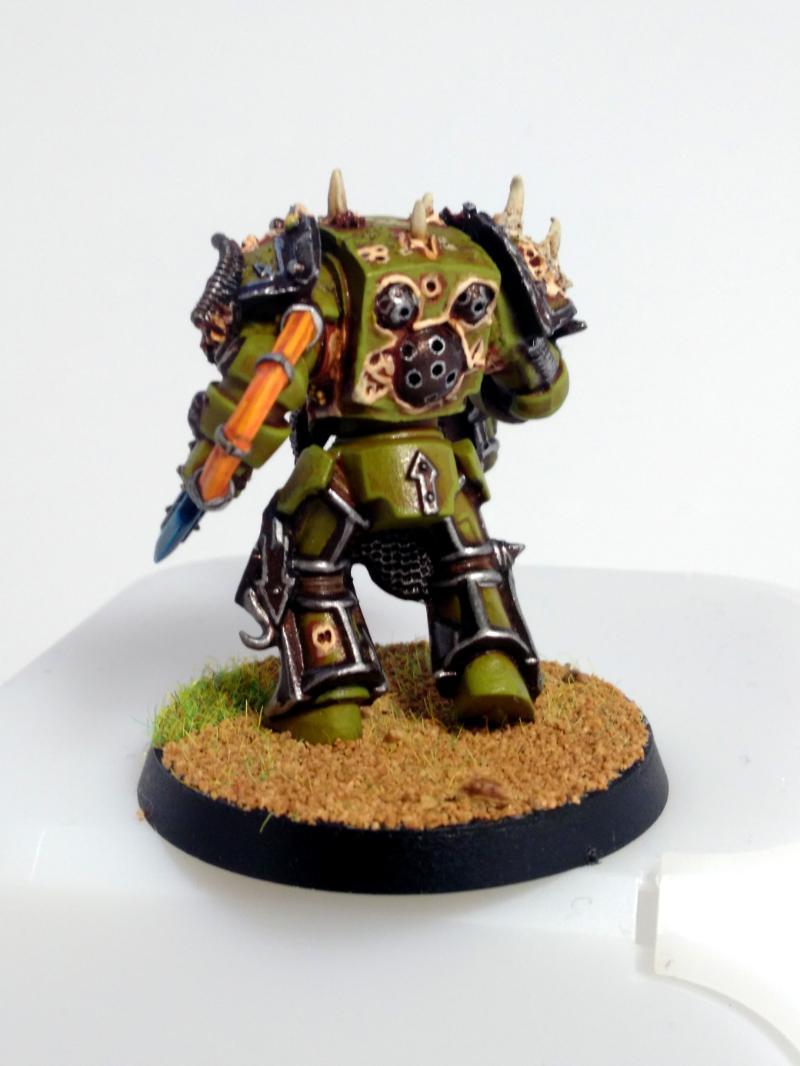 Death Guard, Nurgle, Plague Marines, Terminator Armor