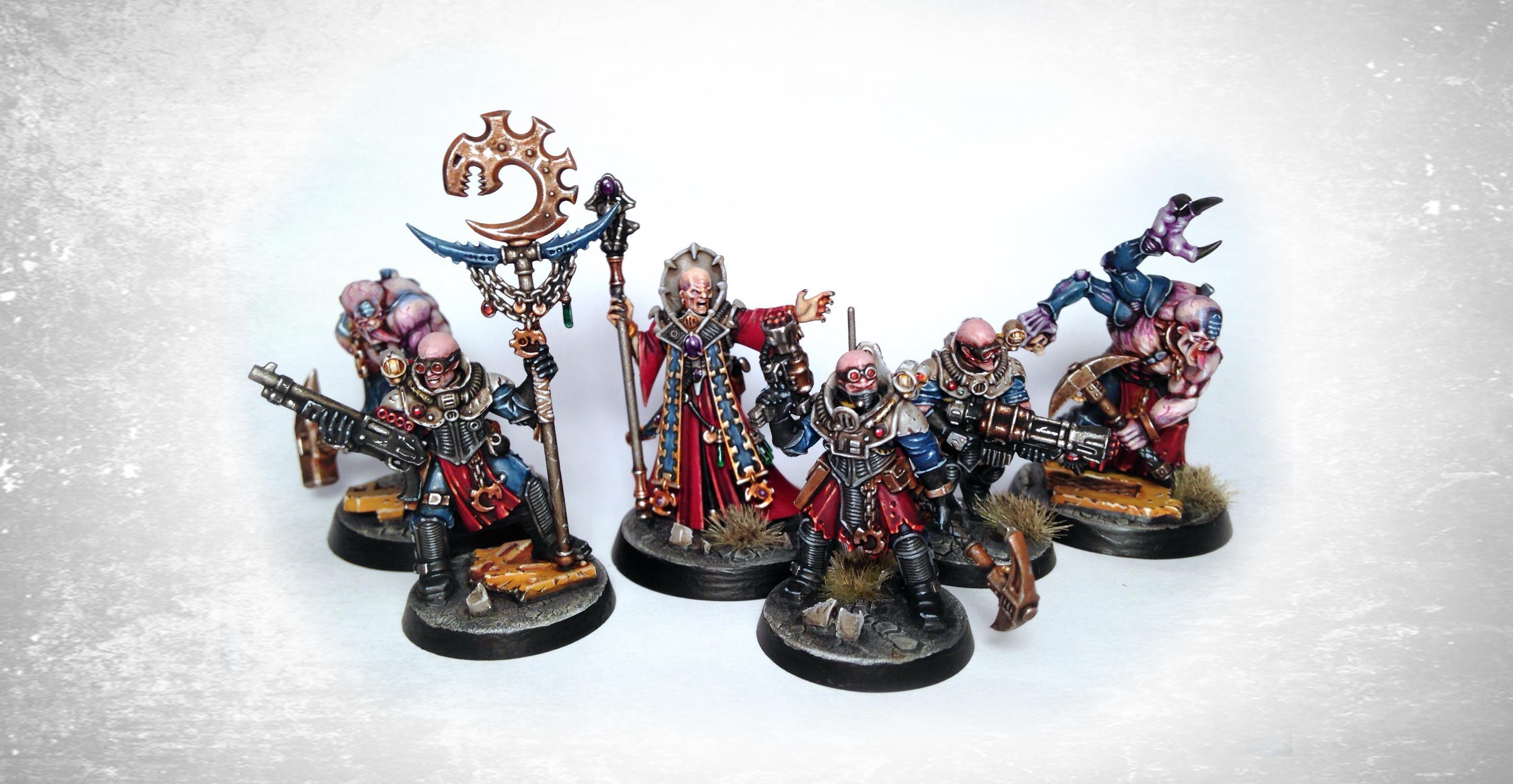 Cultists, Genestealer Cult, Hybrids, Neophyte, Warhammer 40,000