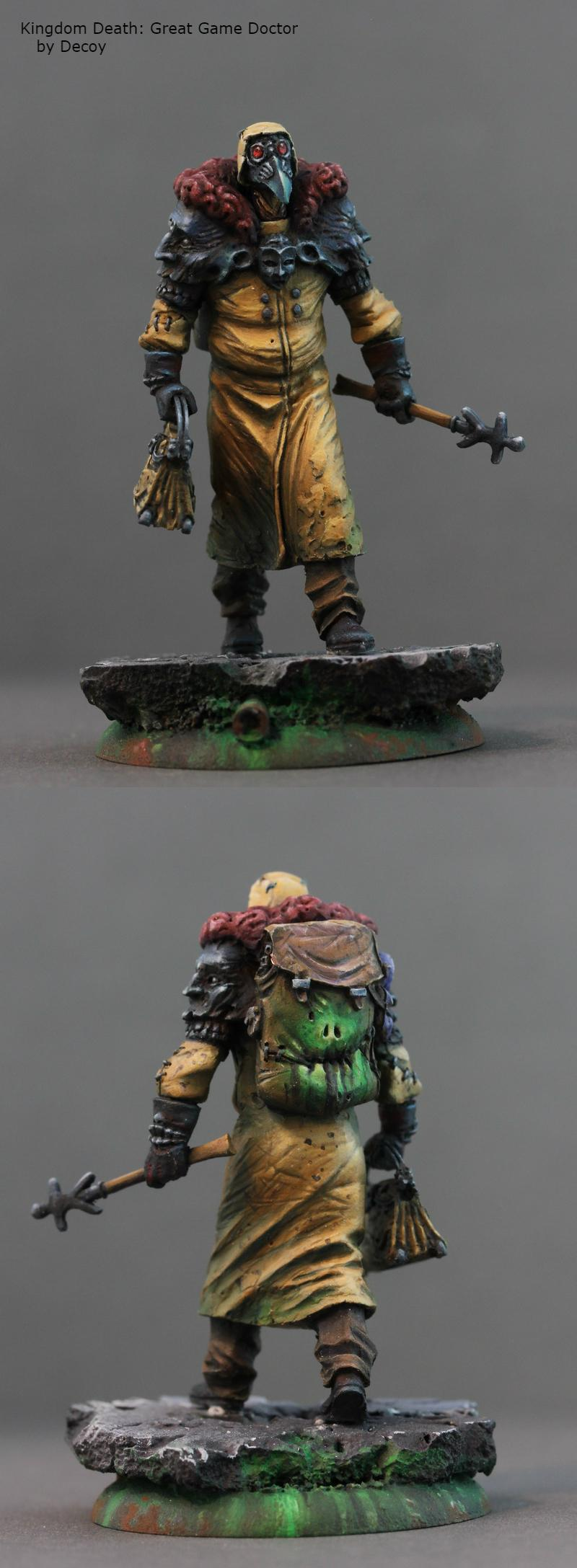 Boardgame, Kingdom Death, Miniature, Monster, Painting