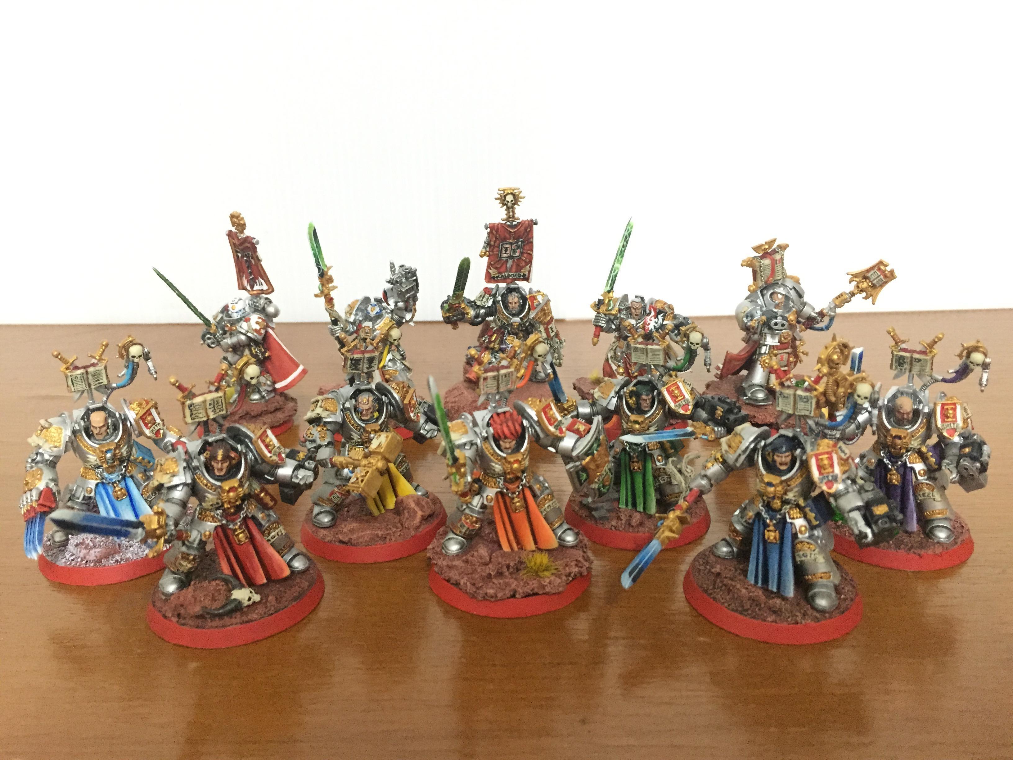 Brother, Captain, Castellan, Crowe, Draigo, Grey Knights, Justicar, Librarian, Lord Kaldor Draigo, Paladin, Stern
