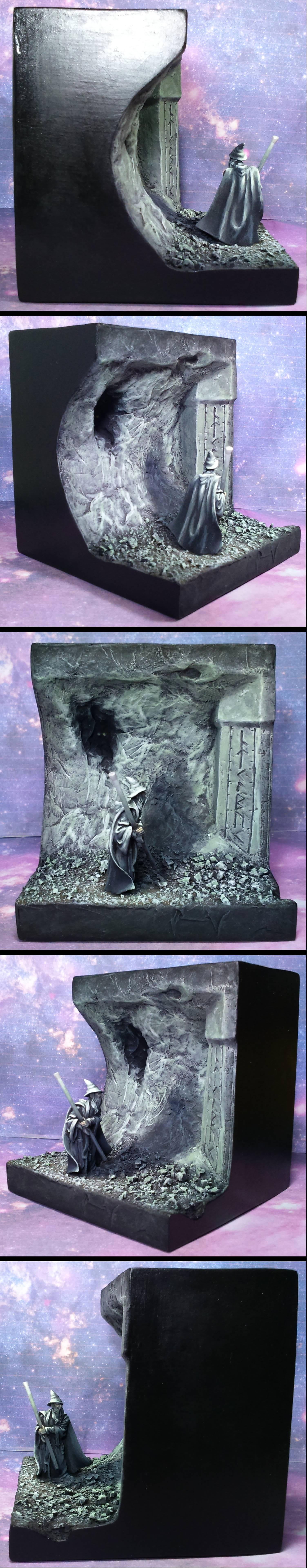 Diorama, Gandalf The Grey, Lord Of The Rings, Moria