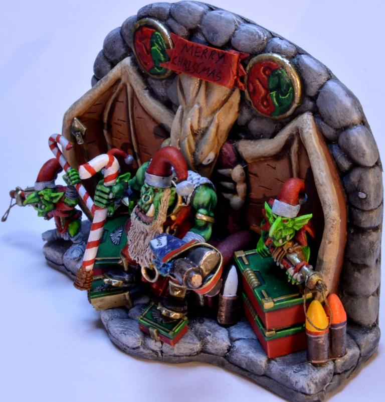 Ork Santa, Santa Claus, Xmas