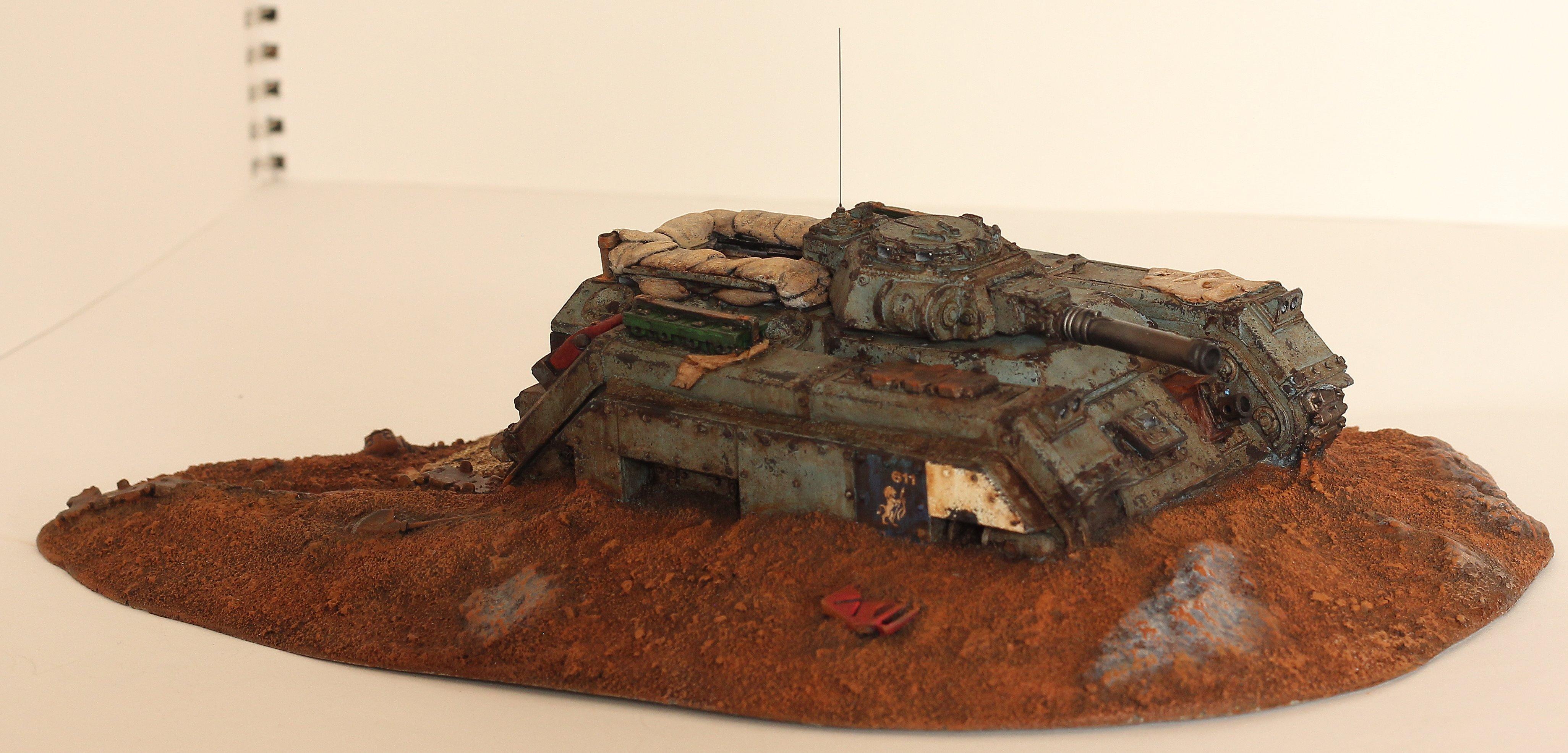 Rust, Tank