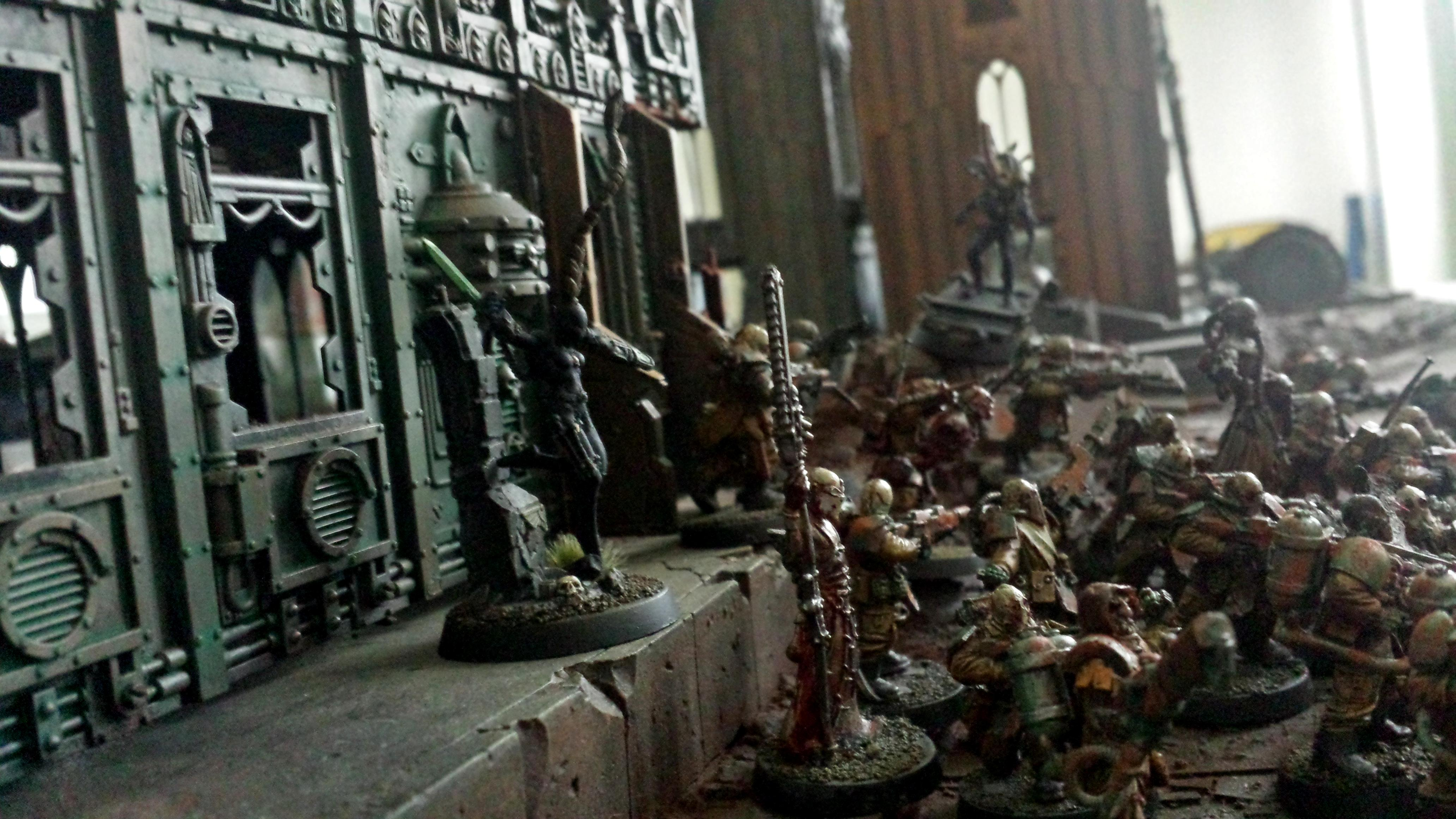 Apostles Of Contagion, Assassins, Chaos, Forge World, Nurgle, Renegades, Terrain, Warhammer 40,000
