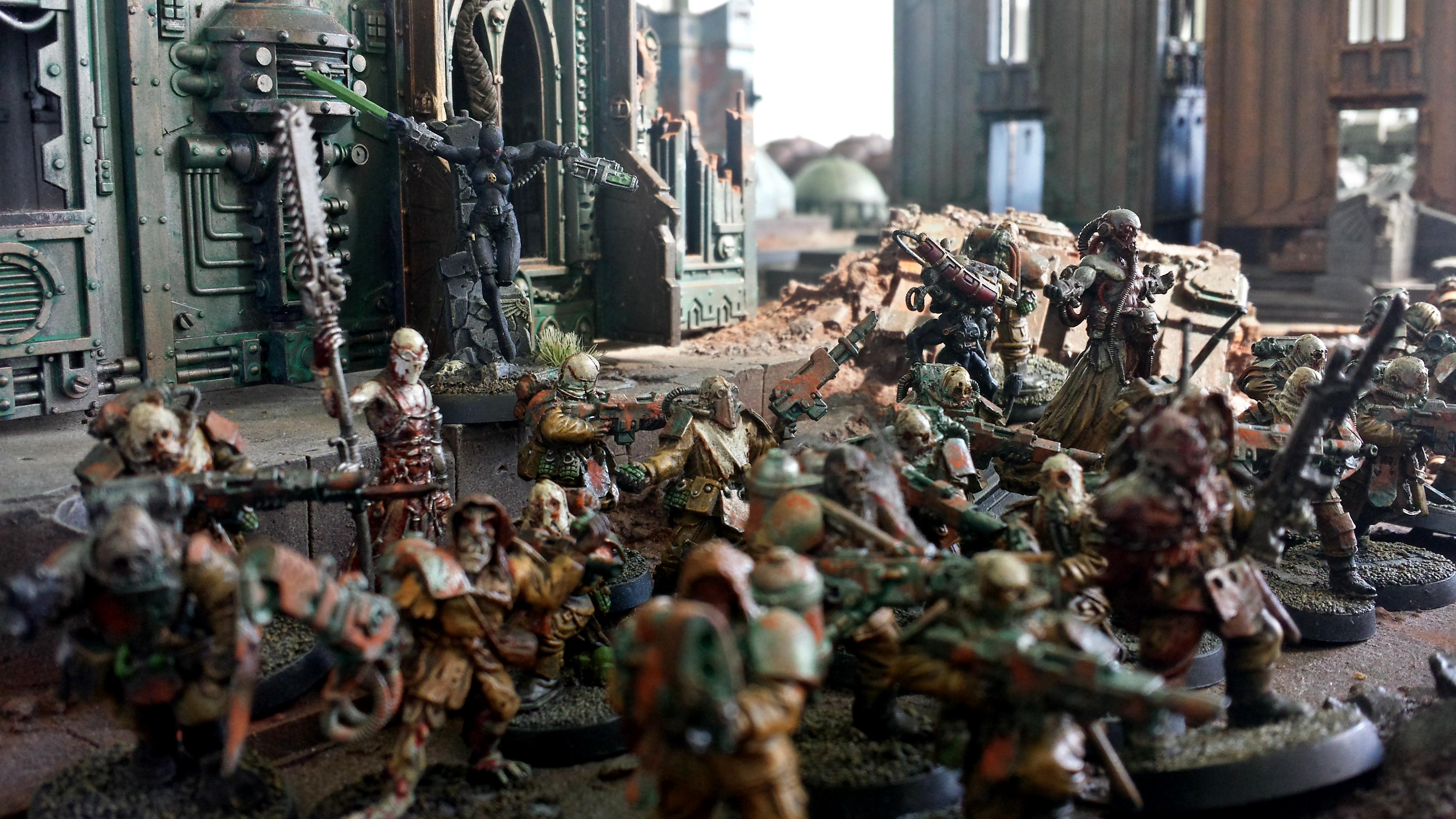 Apostles Of Contagion, Assassins, Chaos, Forge World, Nurgle, Renegades, Warhammer 40,000