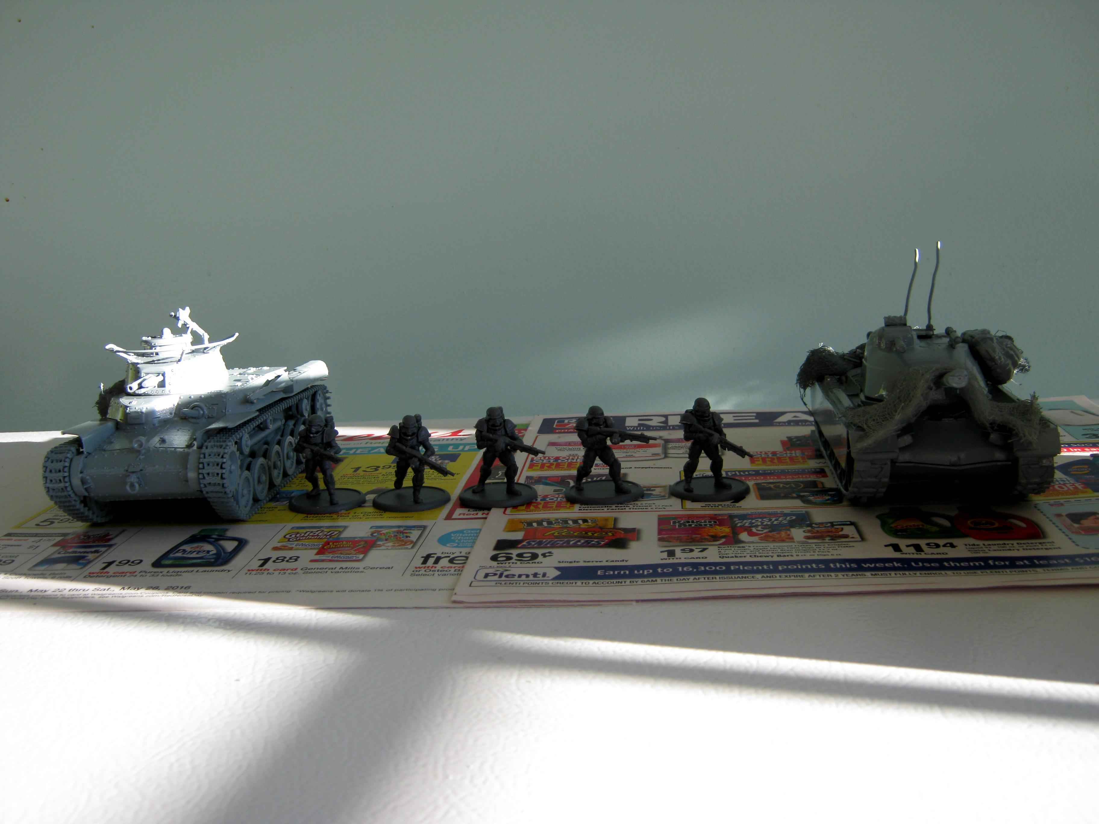 Chi-ha, Dreamforge Games, Eisenkern, Ija, Imperial, Imperial Japanese Army, Iron Core, Japanese, Light Tank, M47, M48, Recon Vehicle, Scouts, Storm Troopers, Tamiya, Tank, Timmee Toys, Toy, Type 97, World War 2