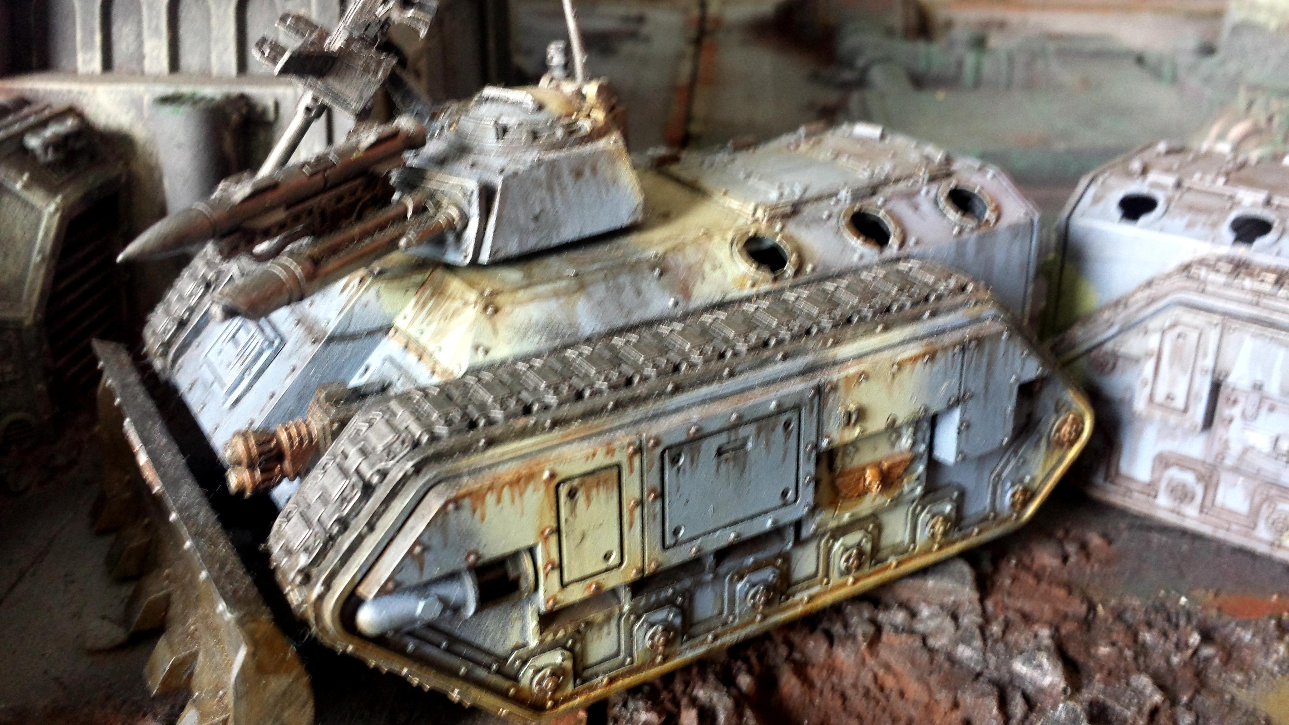 Astra Militarum, Chimera, Imperial Guard, Steel Legion