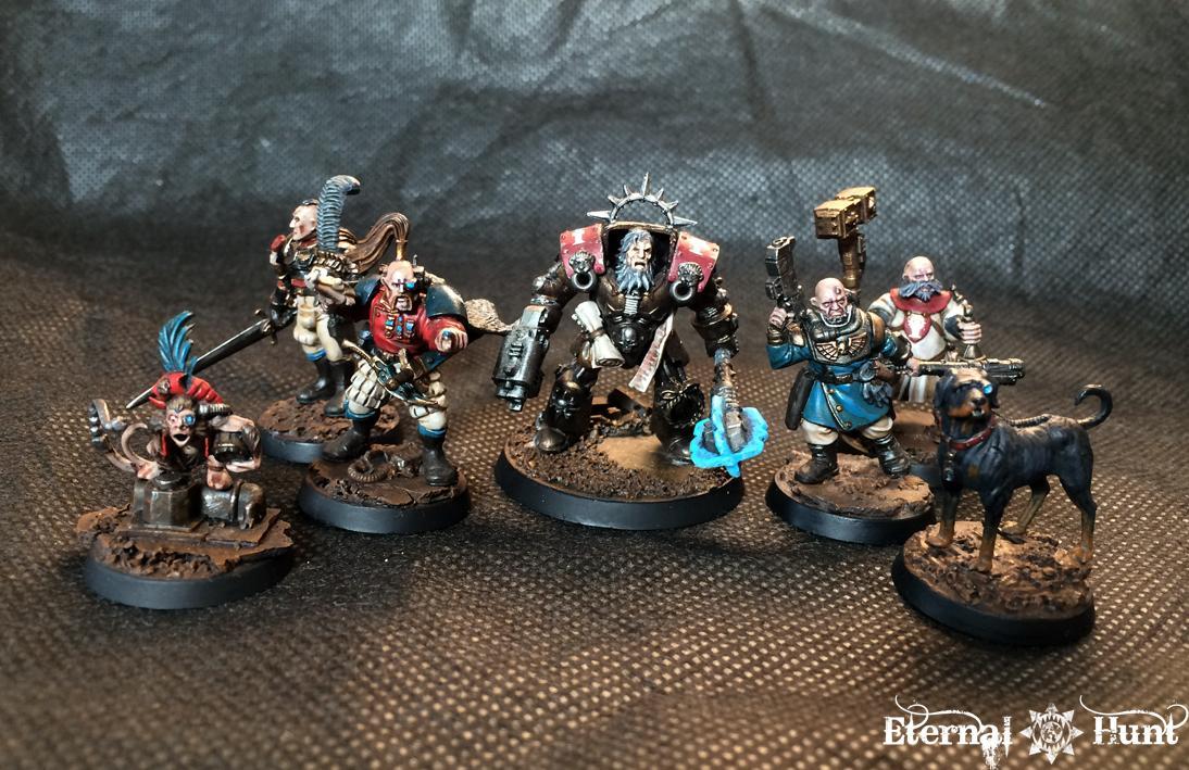 Conversion, Erasmus Gotthardt, Inq28, Inquisimunda, Inquisitor, Inquisitor 28, Kitbash, Ordo Hereticus, Retinue, Warband, Warhammer 40,000