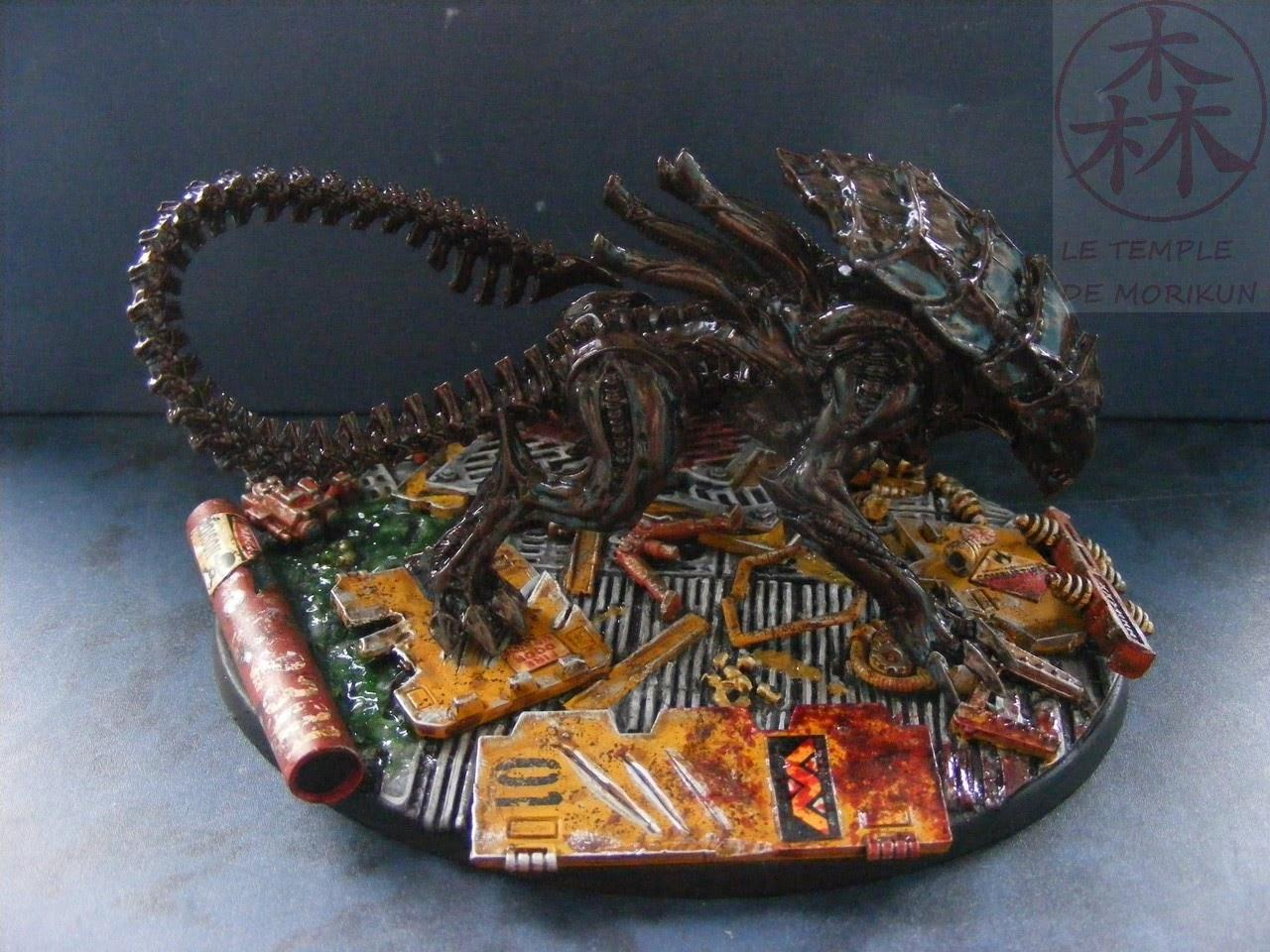 Alien, Avp, Basius 2, Crusher, Morikun, Prodos