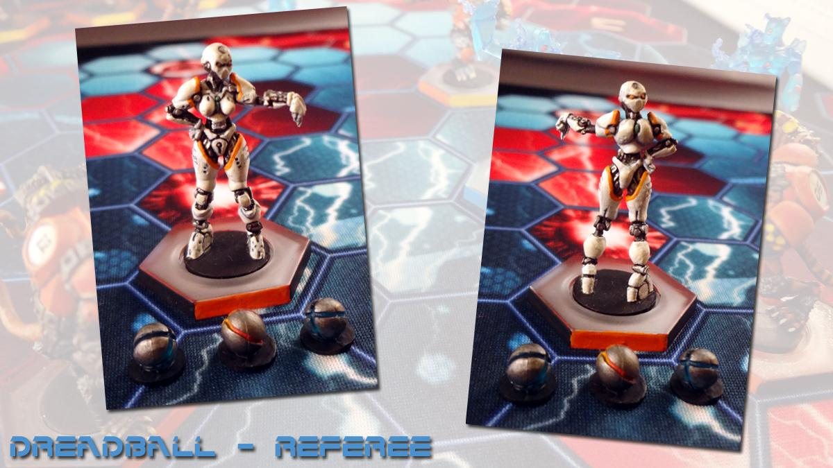 Dreadball, Mantic, Referee