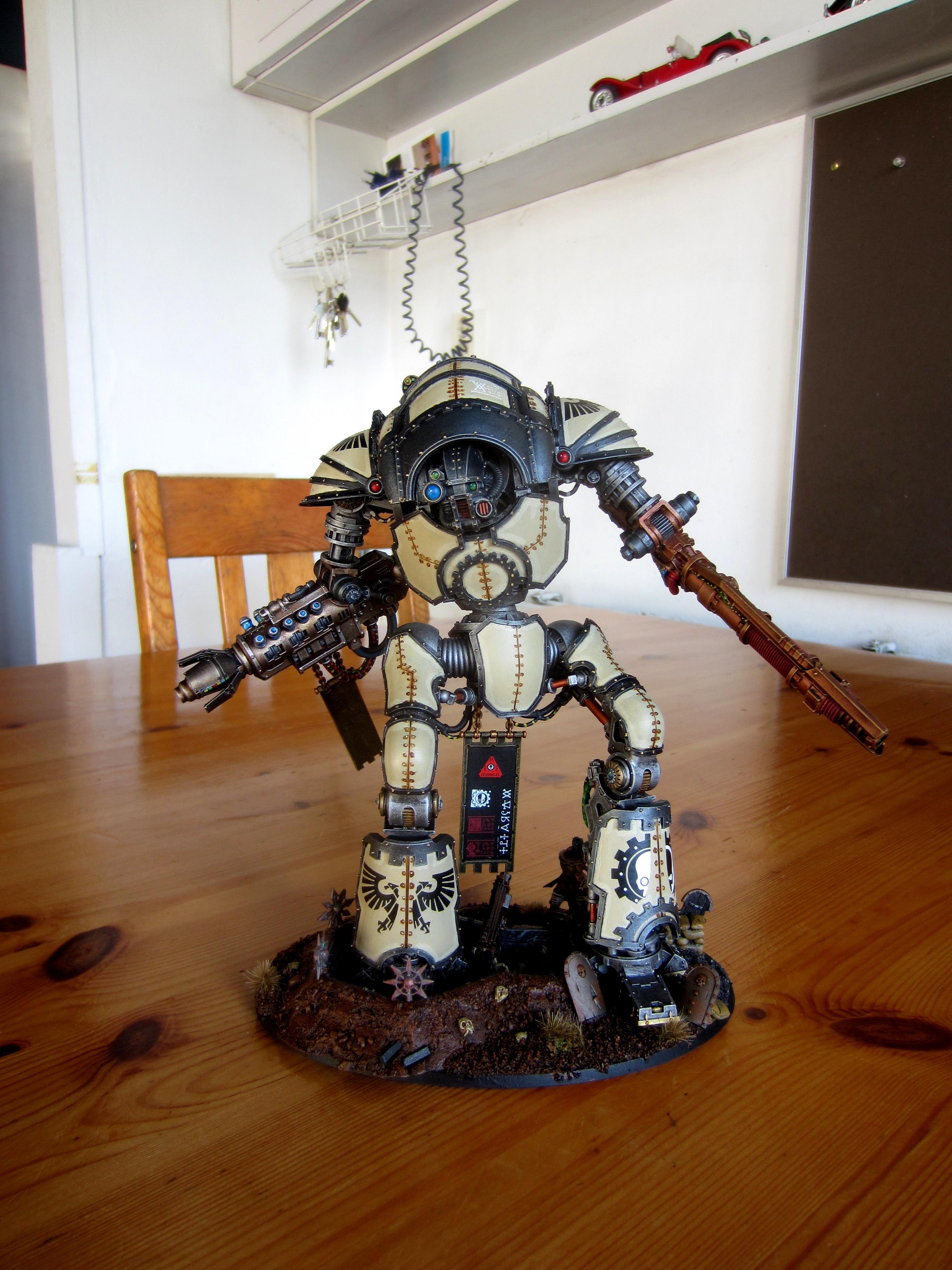 Adeptus Mechanicus, Admech, Atropos, Forge World, Knight-cerastus, Knights, Resin, Super-heavy