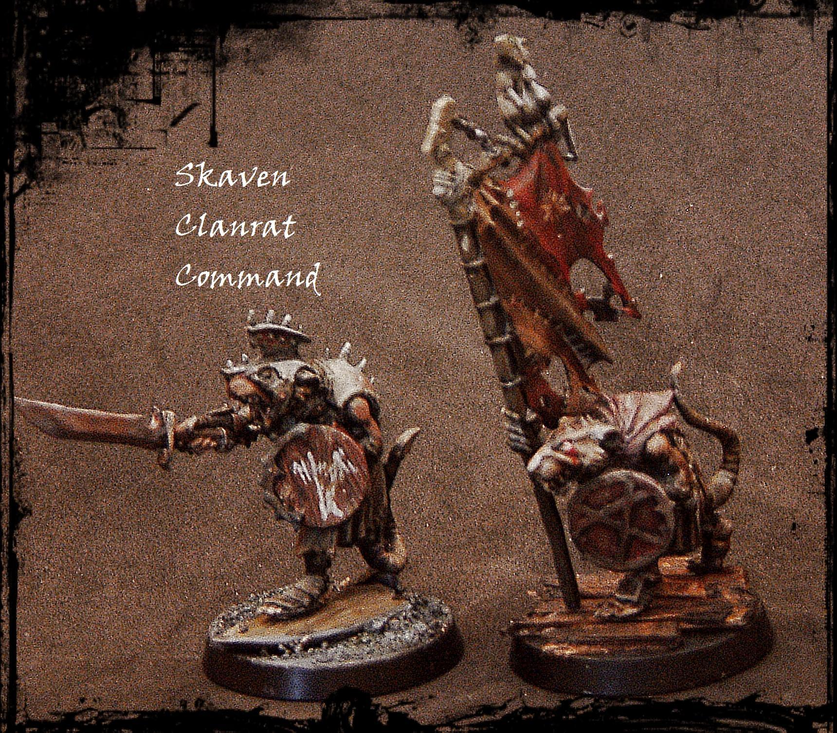 Clanrat, Command, Island Of Blood, Non-Metallic Metal, Skaven