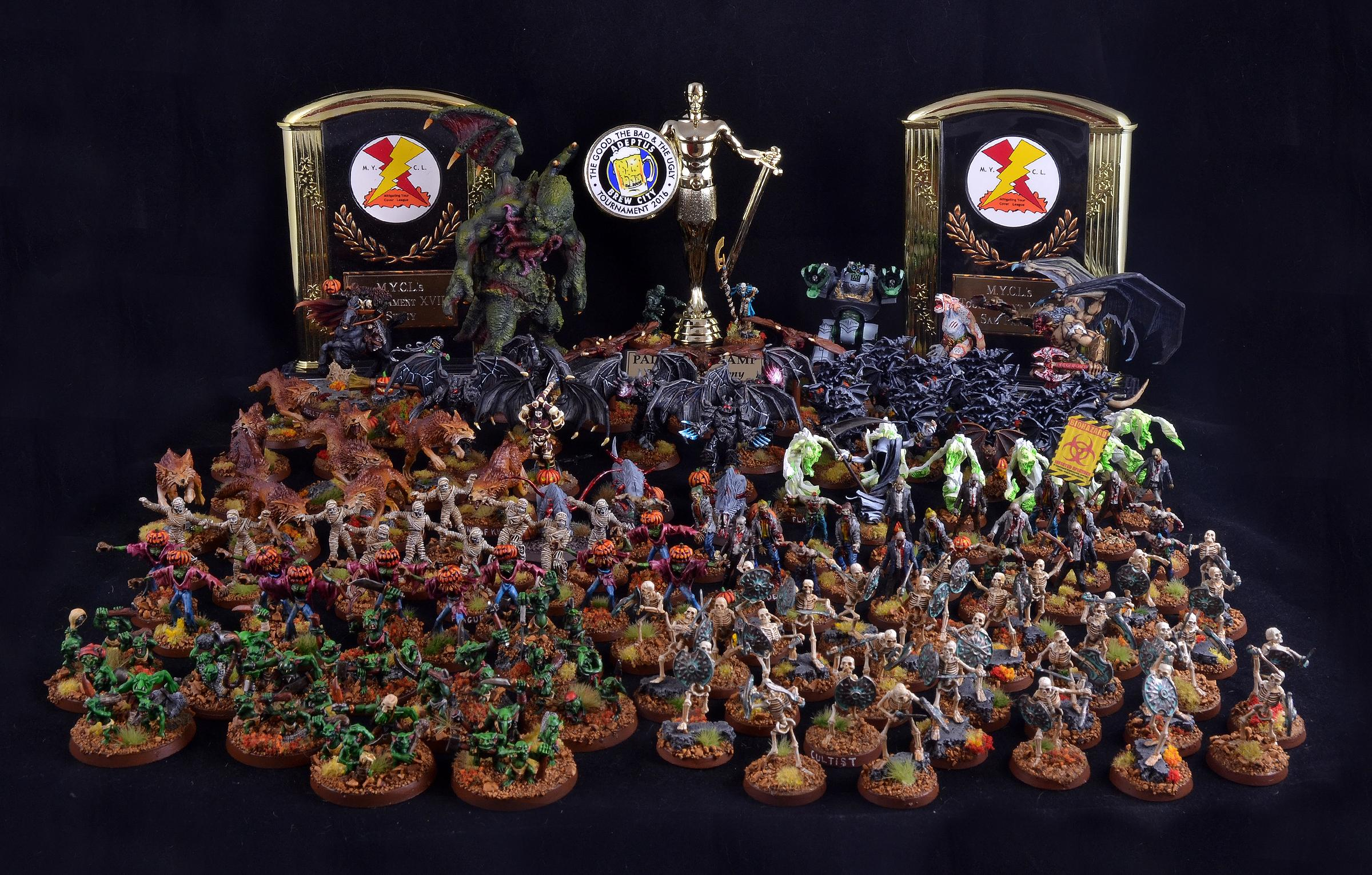 Chaos, Counts As, Halloween, Halloween Army, Undead, Warhammer 40,000