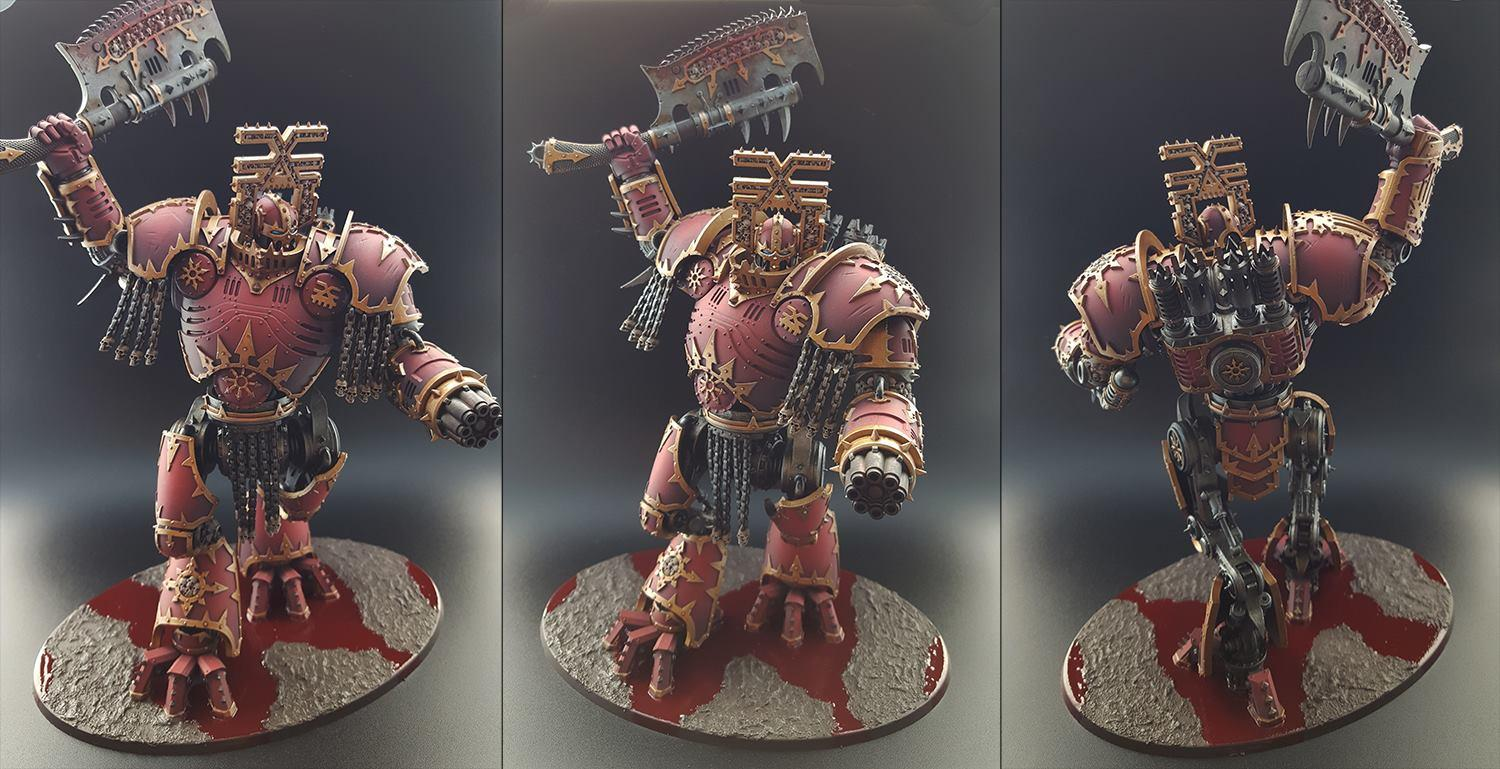 Chaos, Chaos Knight, Chaos Space Marines, Imperial Knight, Khorne, Kytan, Kytan Daemon Engine Of Khorne, Lord Of War, Warhammer 40,000