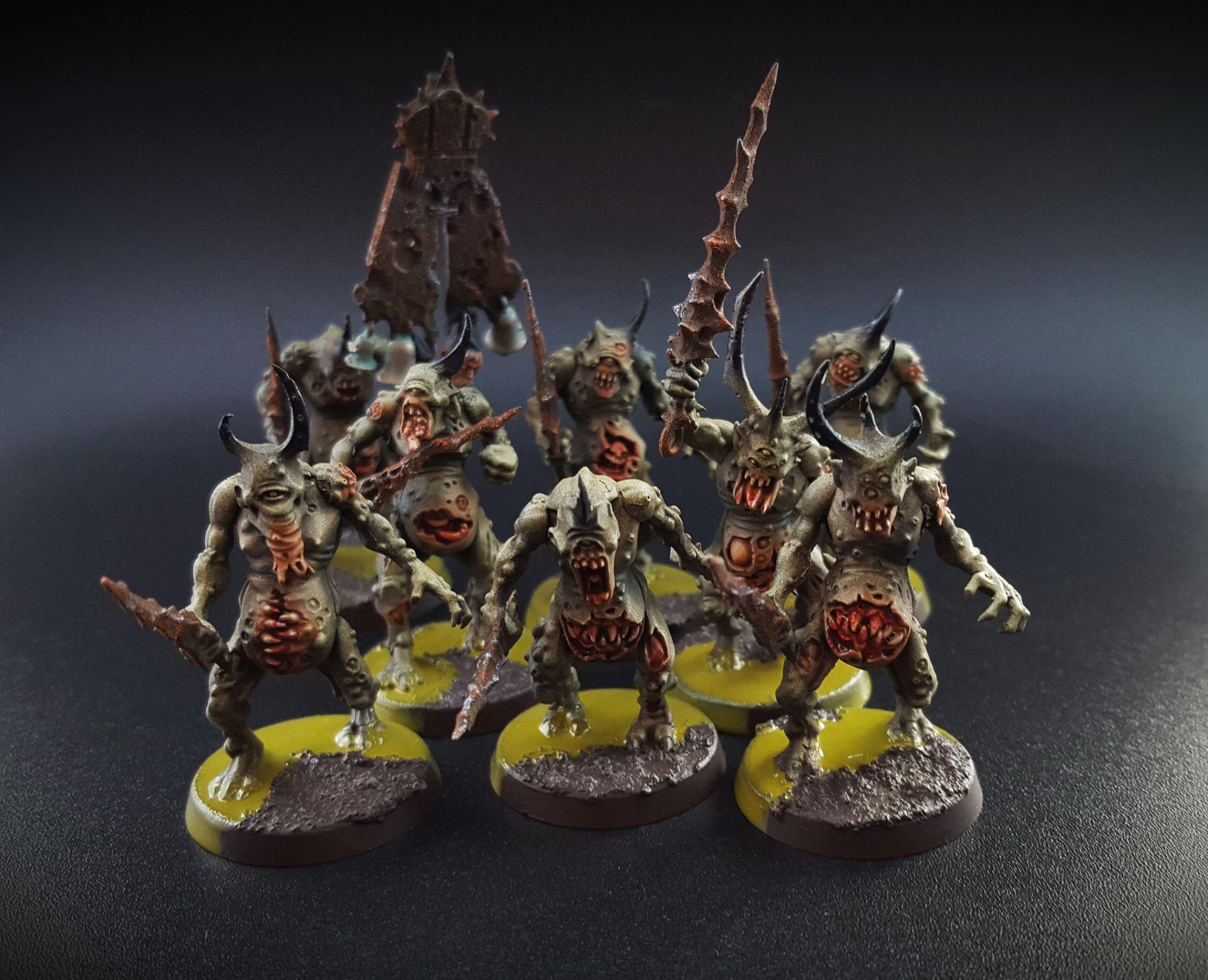 Chaos, Chaos Undivided, Daemons, Khorne, Nurgle, Slaanesh, Tzeentch, Warhammer 40,000