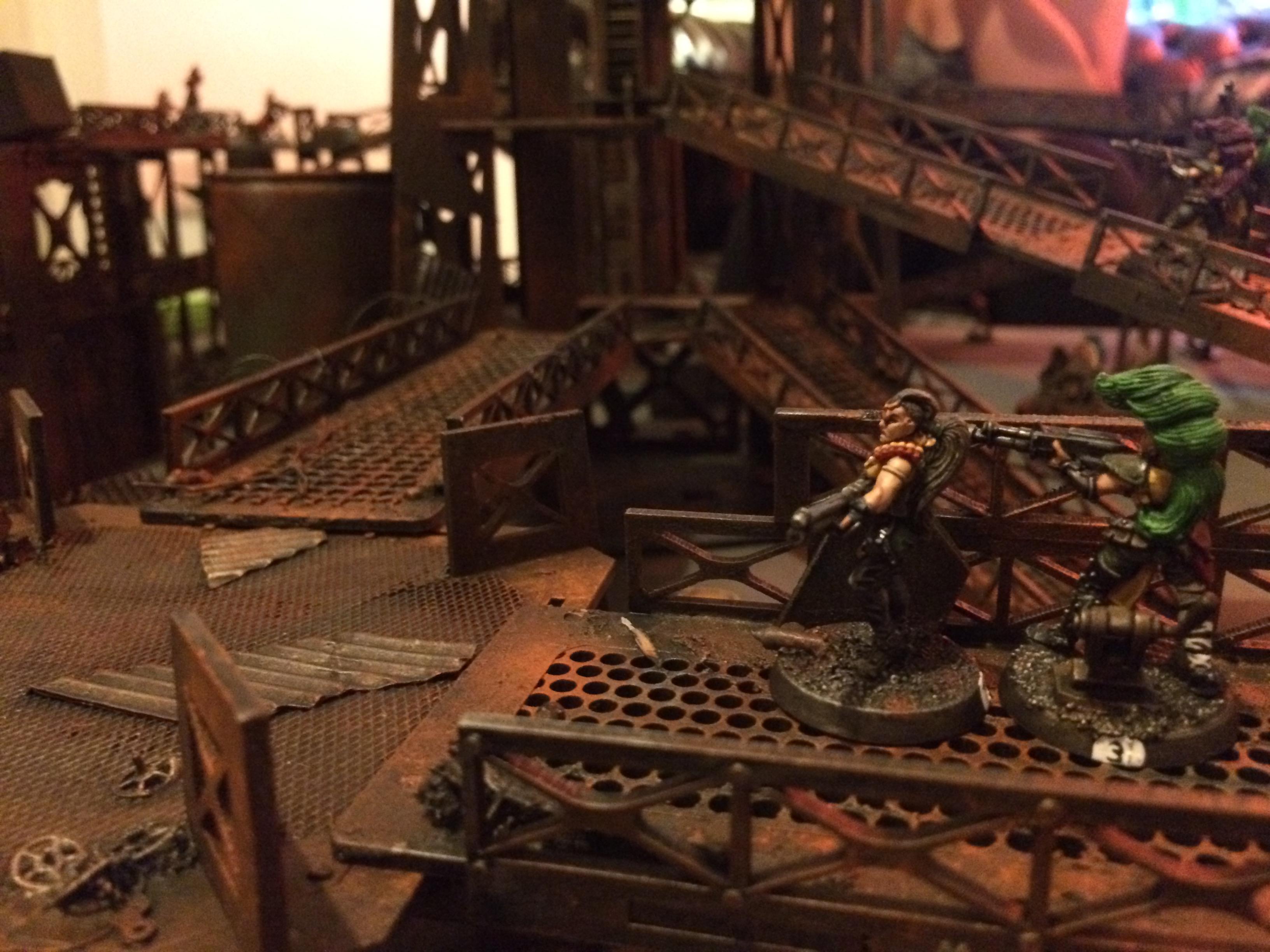 Industrial, Necromunda, Rust, Terrain