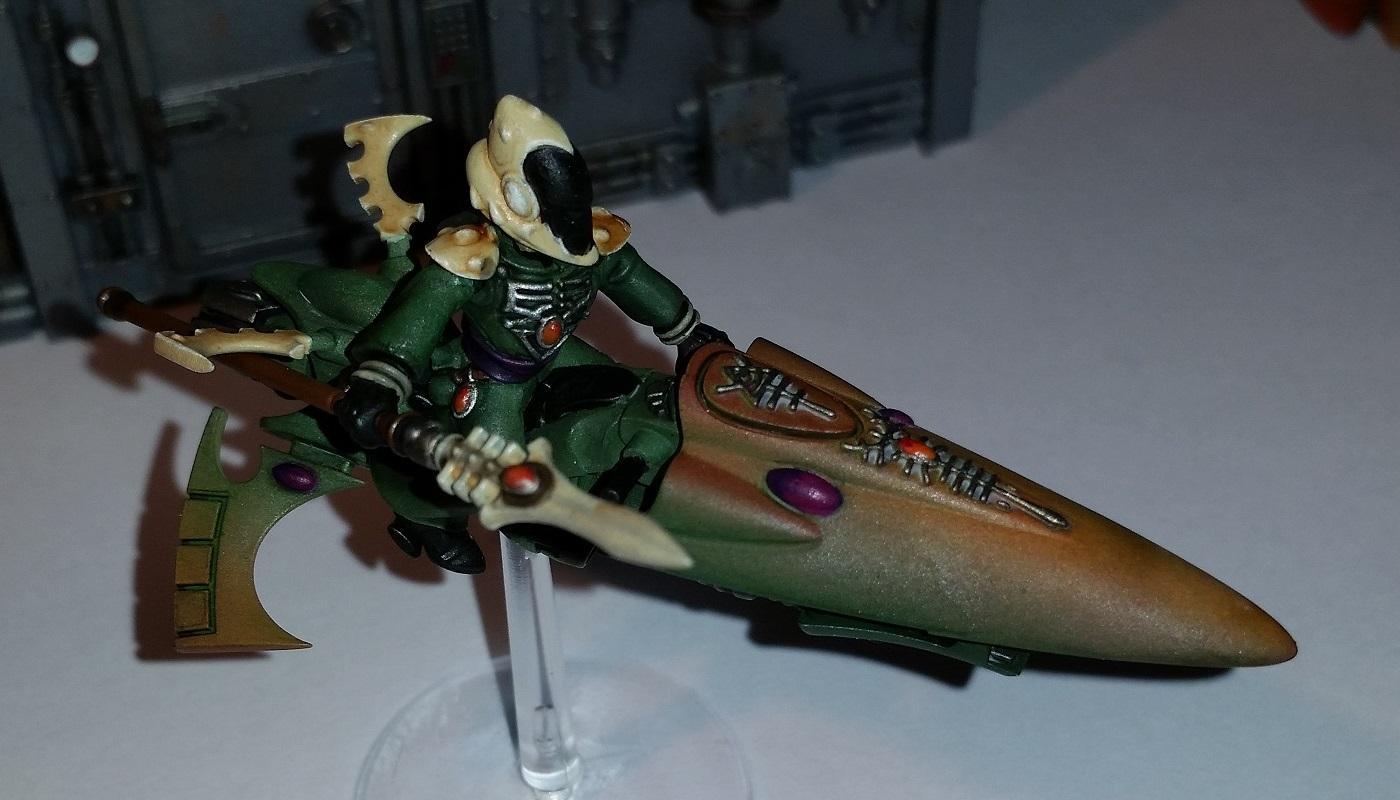 Eldar, Jetbike, Warlock
