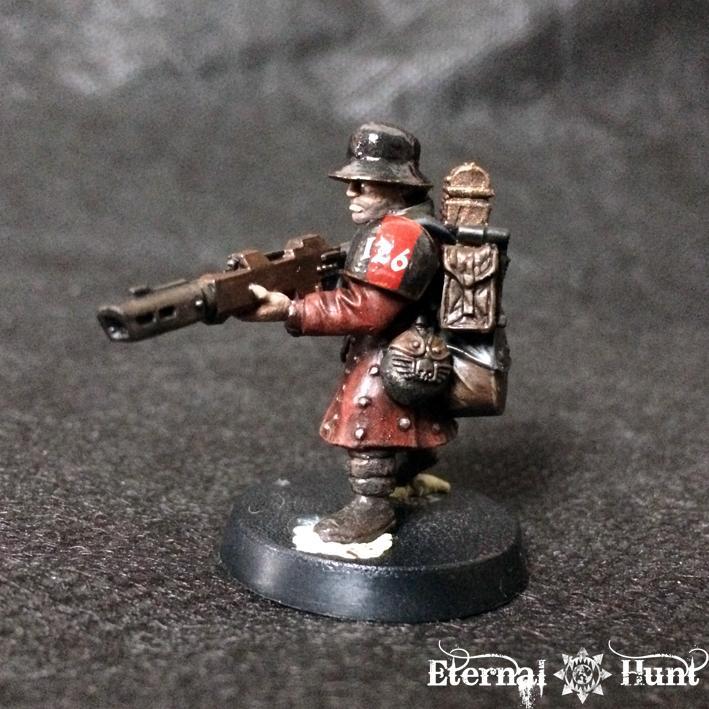 Astra Militarum, Conversion, Imperial Guard, Inq28, Inquisimunda, Inquisitor, Inquisitor 28, Kitbash, Trooper, Warhammer 40,000, Work In Progress