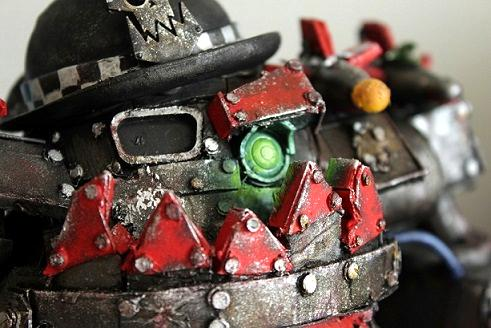 Armor, Chipping Effect, Conversion, Goffs, Ork Stompa, Ork Vehicles, Orks, Paint Chipping, Potato Head, Potato Head Stompa, Scratch Build, Stompa, Super Heavy Spud, Super-heavy, Tater Titan, Titan, Walker, Weathered