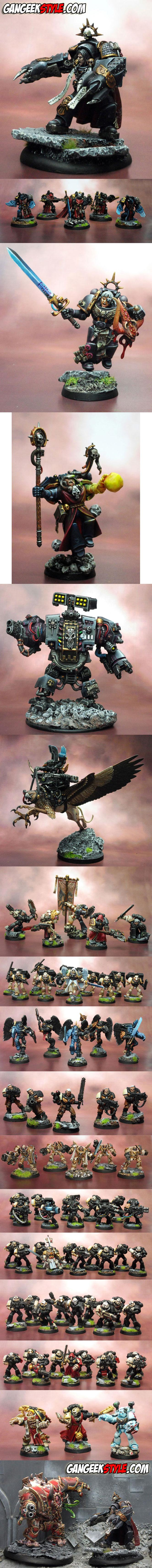 Commission, Conversion, Gangeekstyle, Kaiser, Space Marines