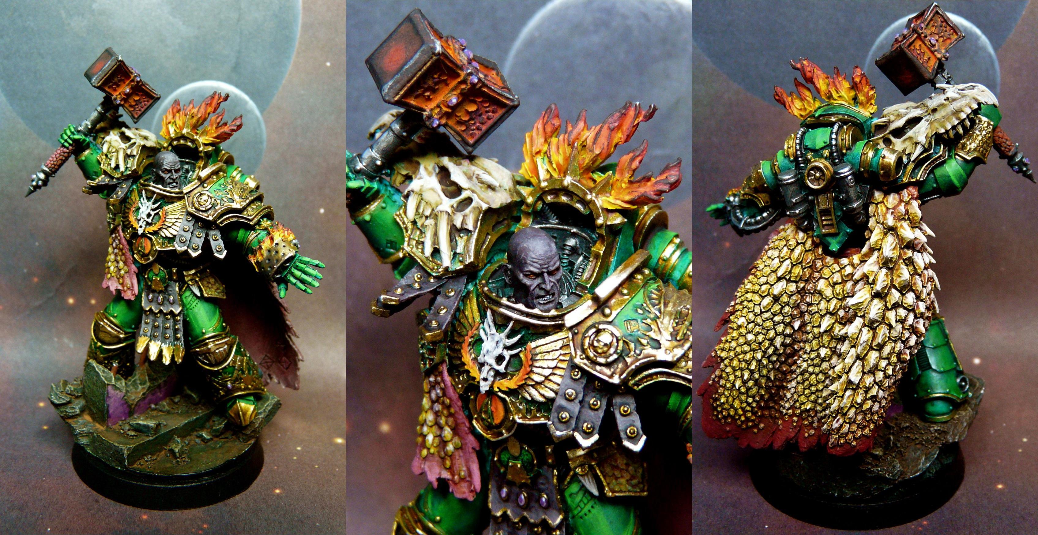 Horus Heresy, Primarch, Salamander, Vulkan