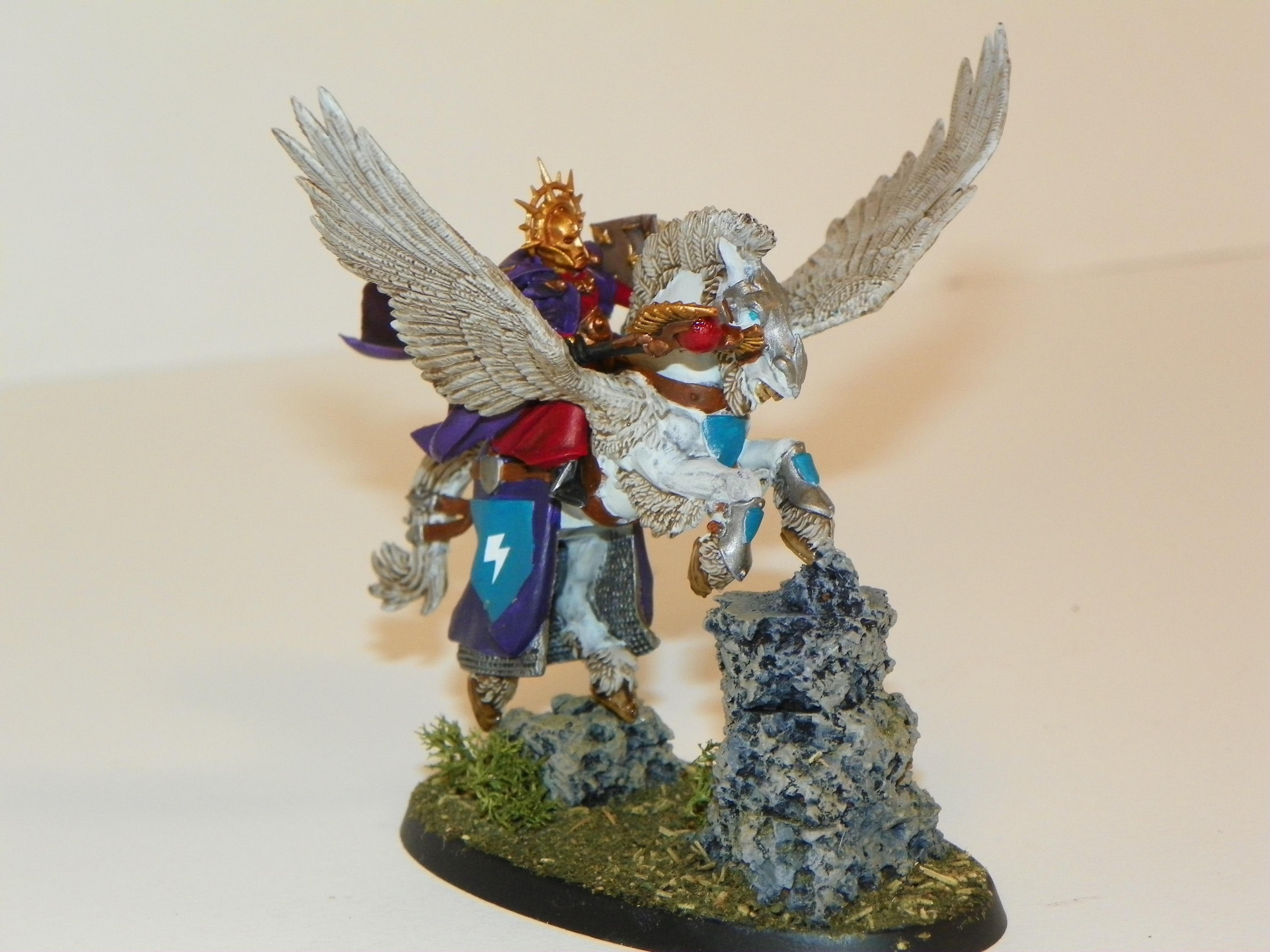 Age Of Sigmar, Balthasar Gelt, Conversion, Pegasus, Stormcast, Warhammer Fantasy