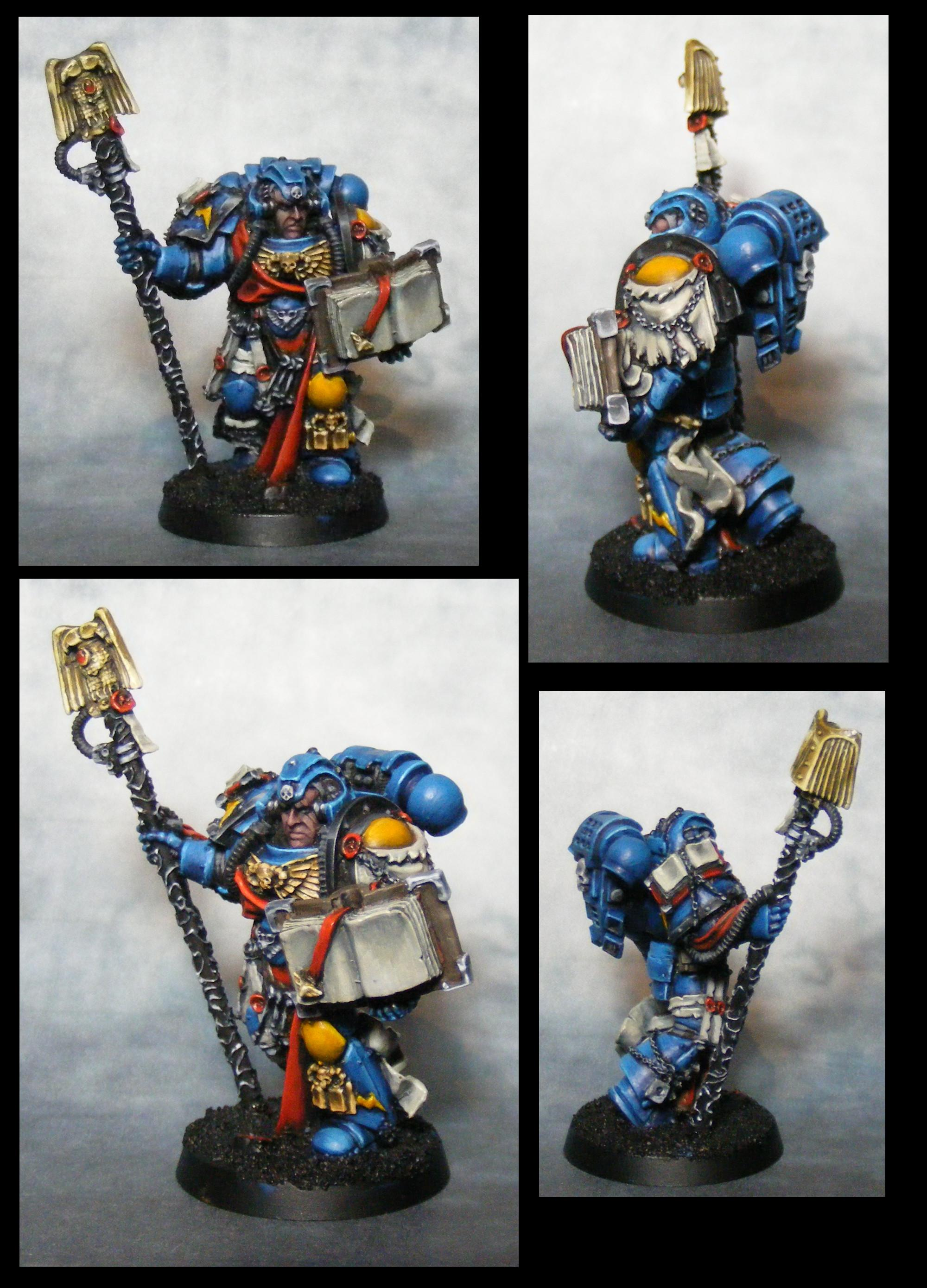 Imperial Fists, Librarian, Space Marines, Warhammer 40,000
