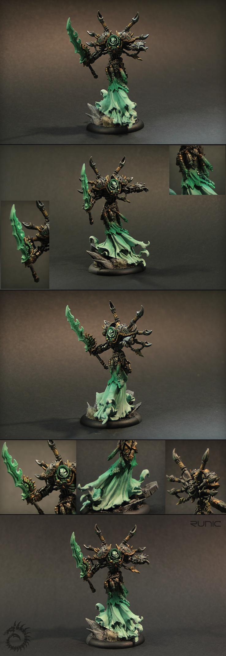 Asphyxious, Cryx, Epic, Undead, Warcaster