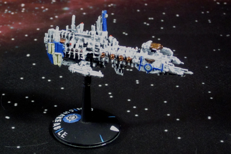 Battlefleet Gothic, Imperial, Novamarines, Strike Cruiser