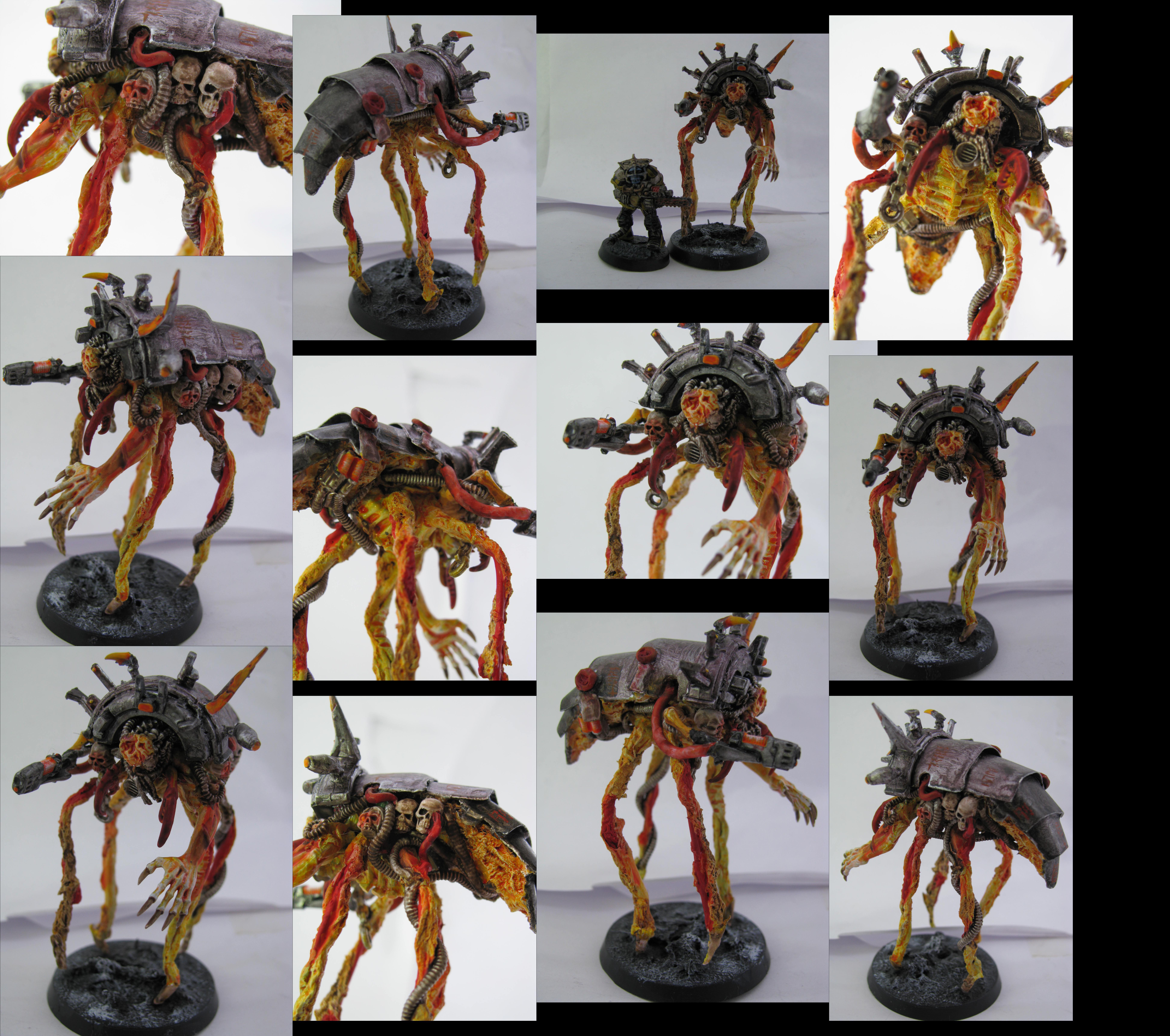 Chaos, Conversion, Daemons, Dark Mechanicus, Magos